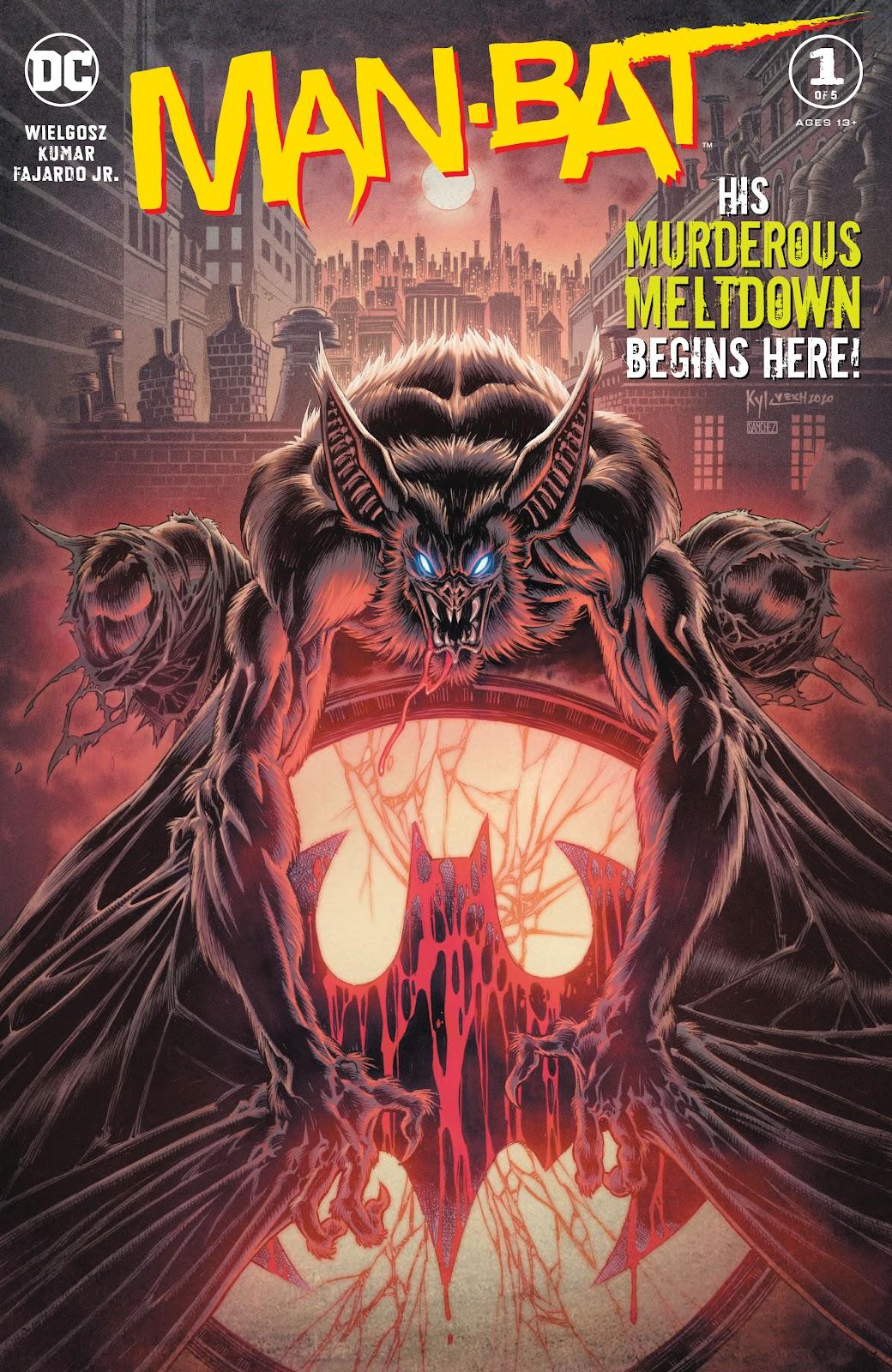 Man-Bat (2021) issue 1 - Page 1