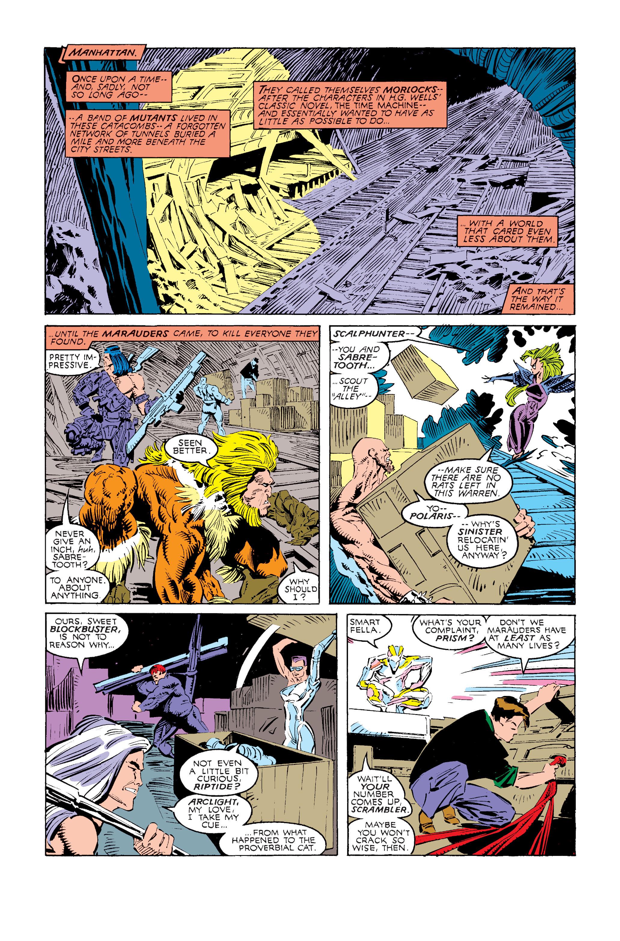 Read online Uncanny X-Men (1963) comic -  Issue #240 - 16