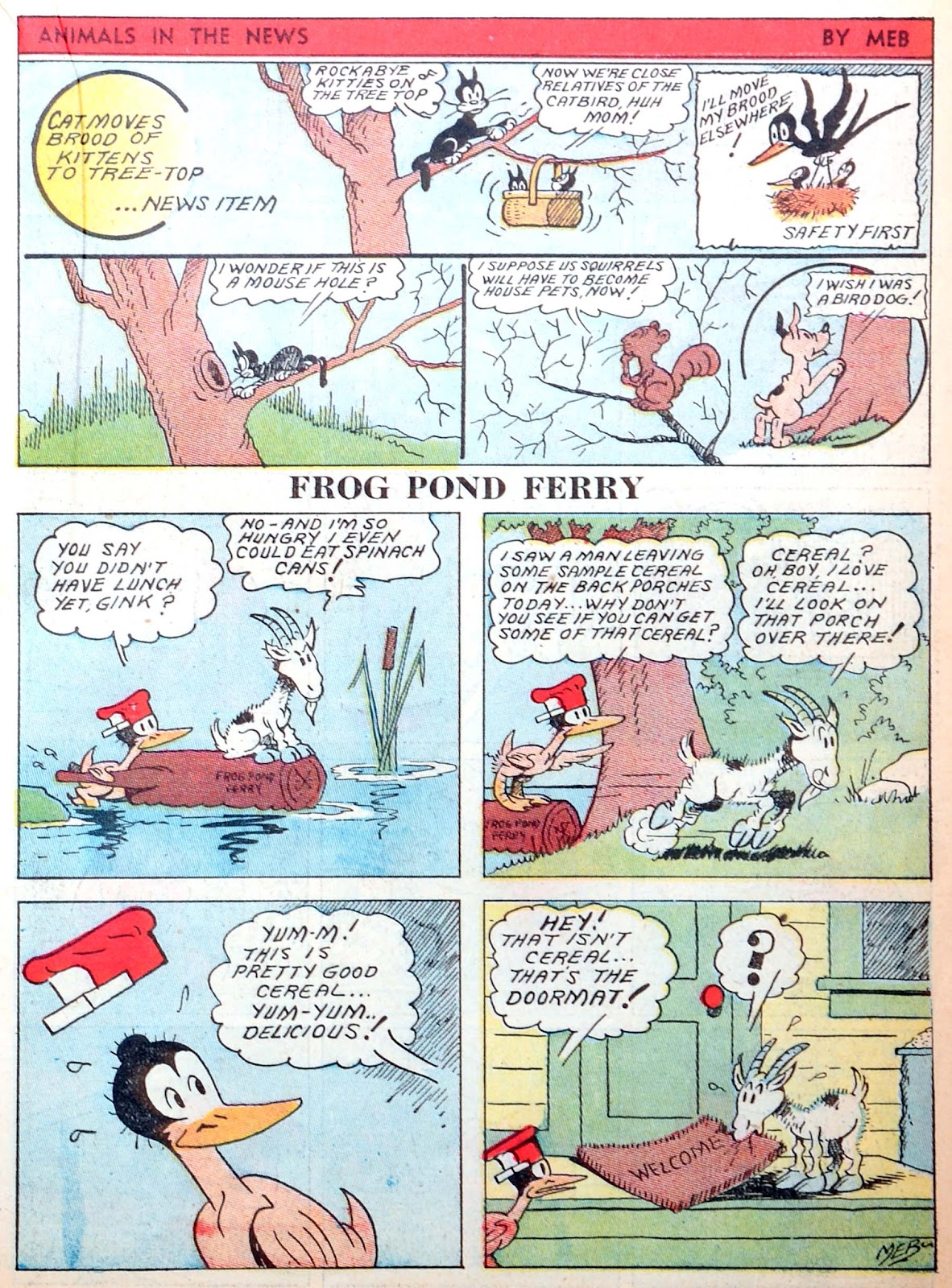 Read online Famous Funnies comic -  Issue #52 - 35