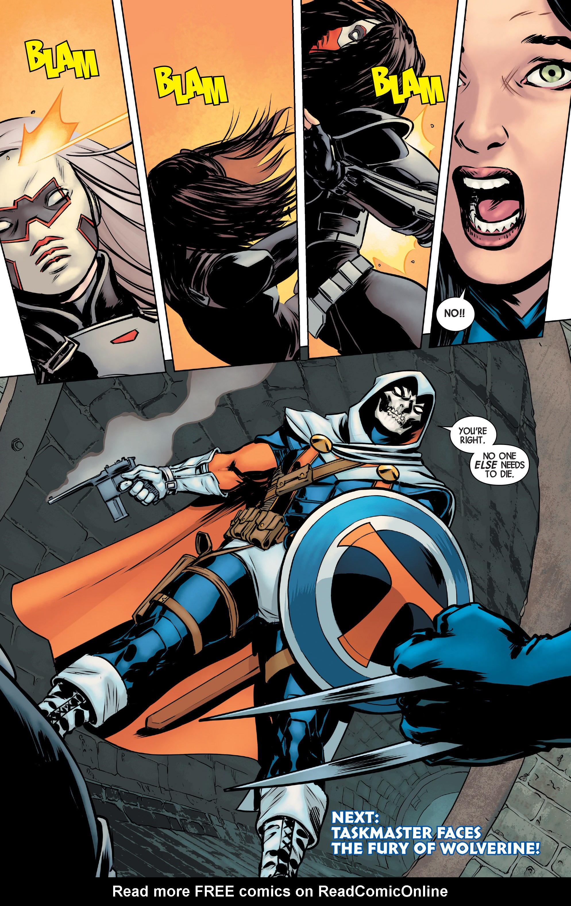 Read online All-New Wolverine (2016) comic -  Issue #2 - 21