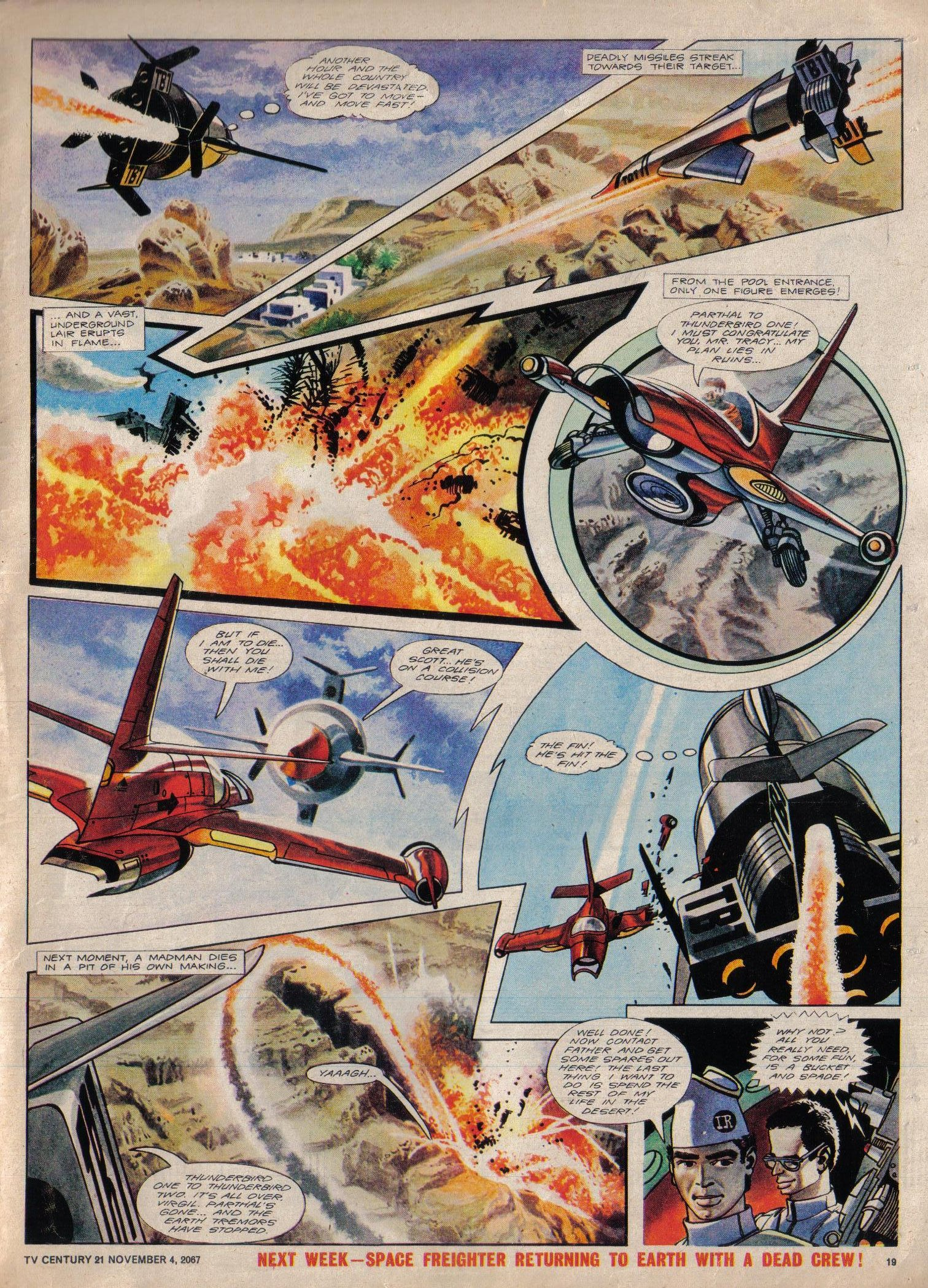 Read online TV Century 21 (TV 21) comic -  Issue #146 - 18