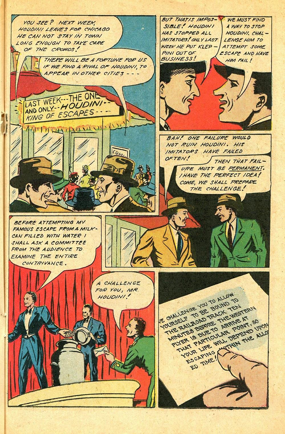 Read online Super-Magician Comics comic -  Issue #56 - 29