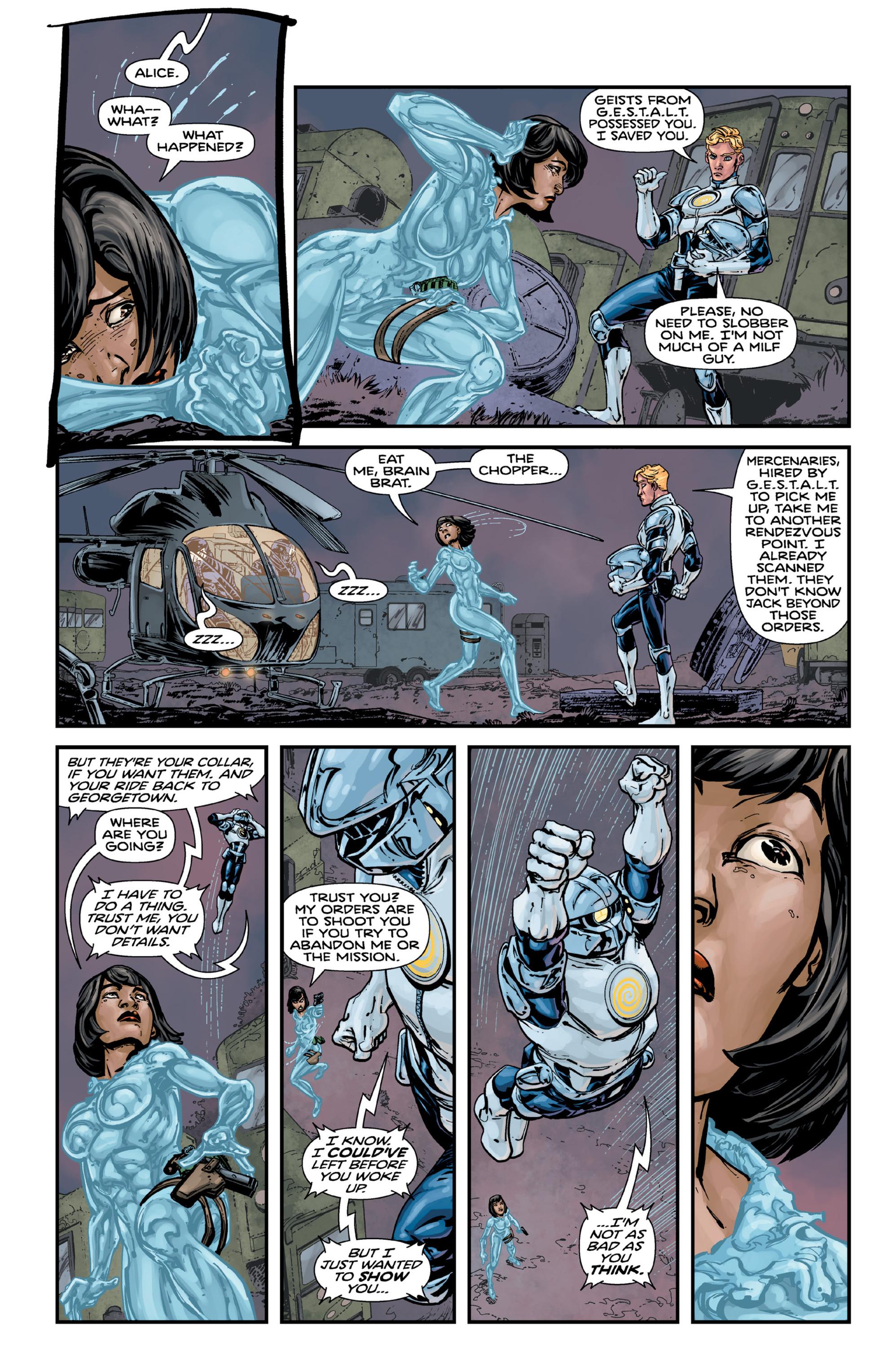 Read online Brain Boy:  The Men from G.E.S.T.A.L.T. comic -  Issue # TPB - 90