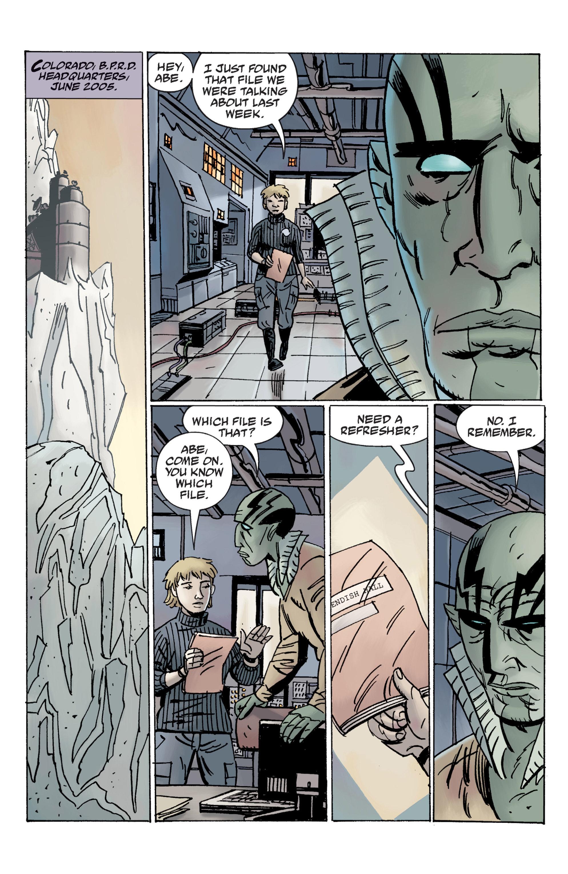 Read online B.P.R.D. (2003) comic -  Issue # TPB 12 - 9