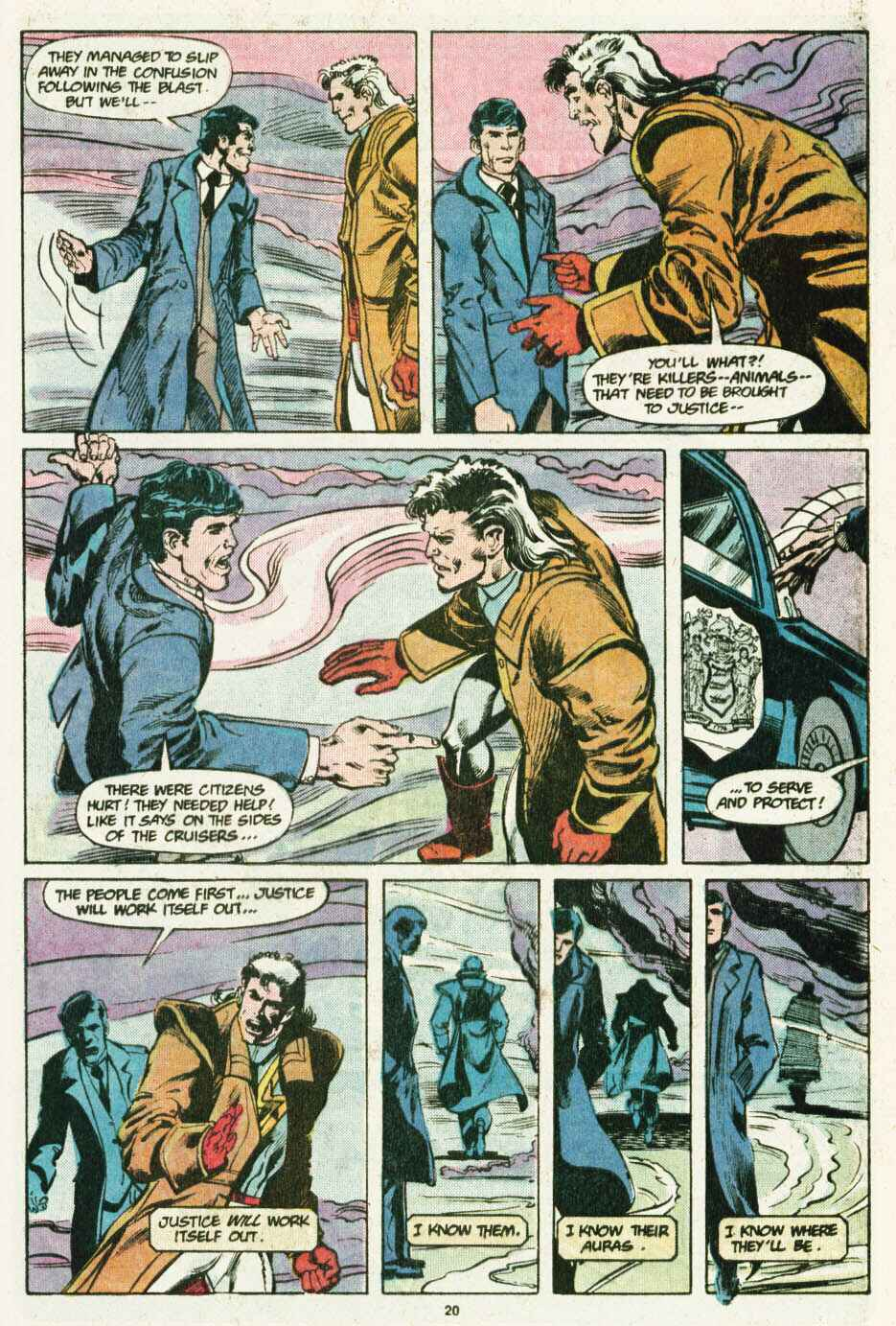 Read online Justice (1986) comic -  Issue #12 - 21