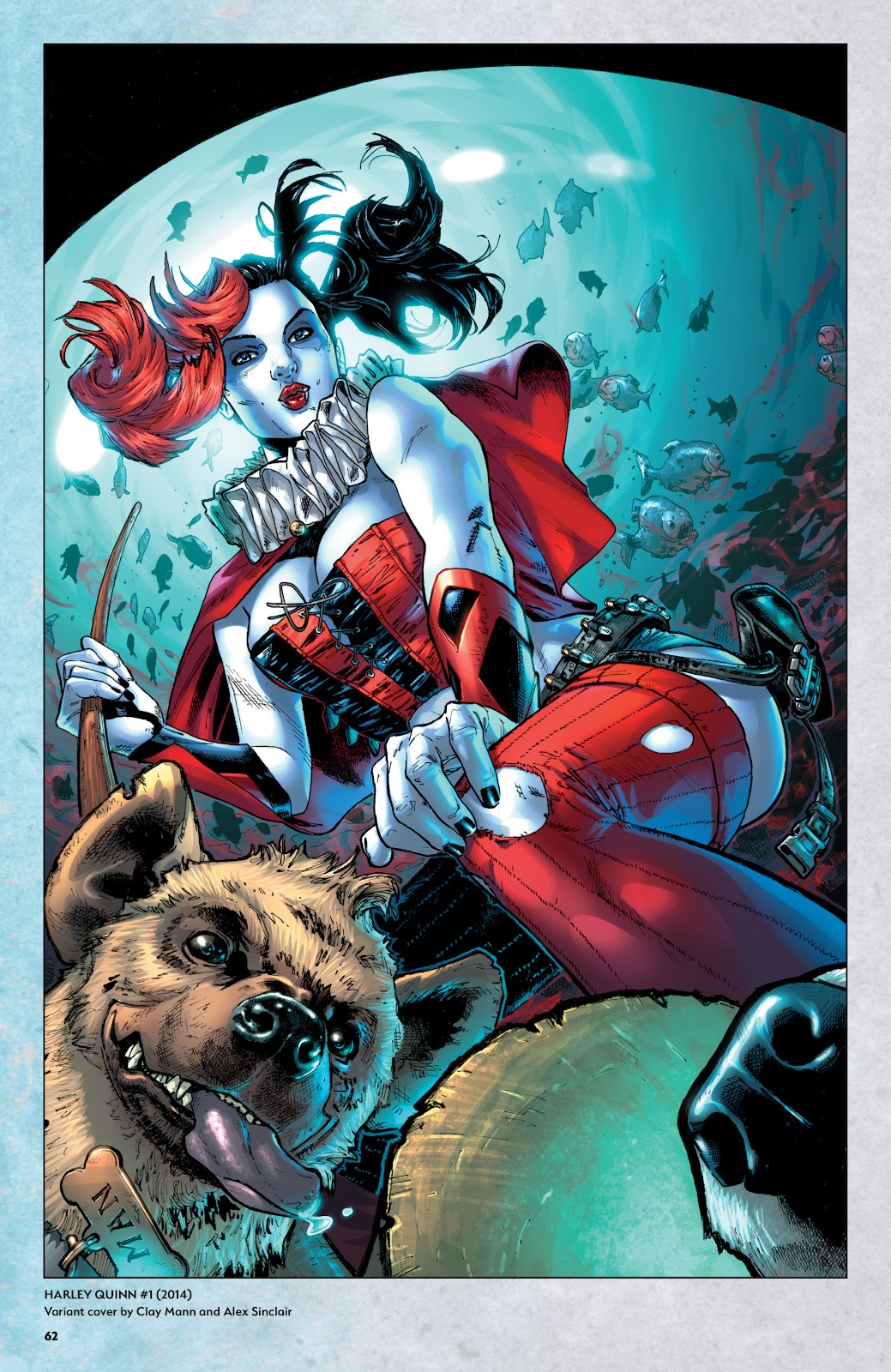 Read online Harley Quinn: A Rogue's Gallery―The Deluxe Cover Art Collection comic -  Issue # TPB (Part 1) - 60
