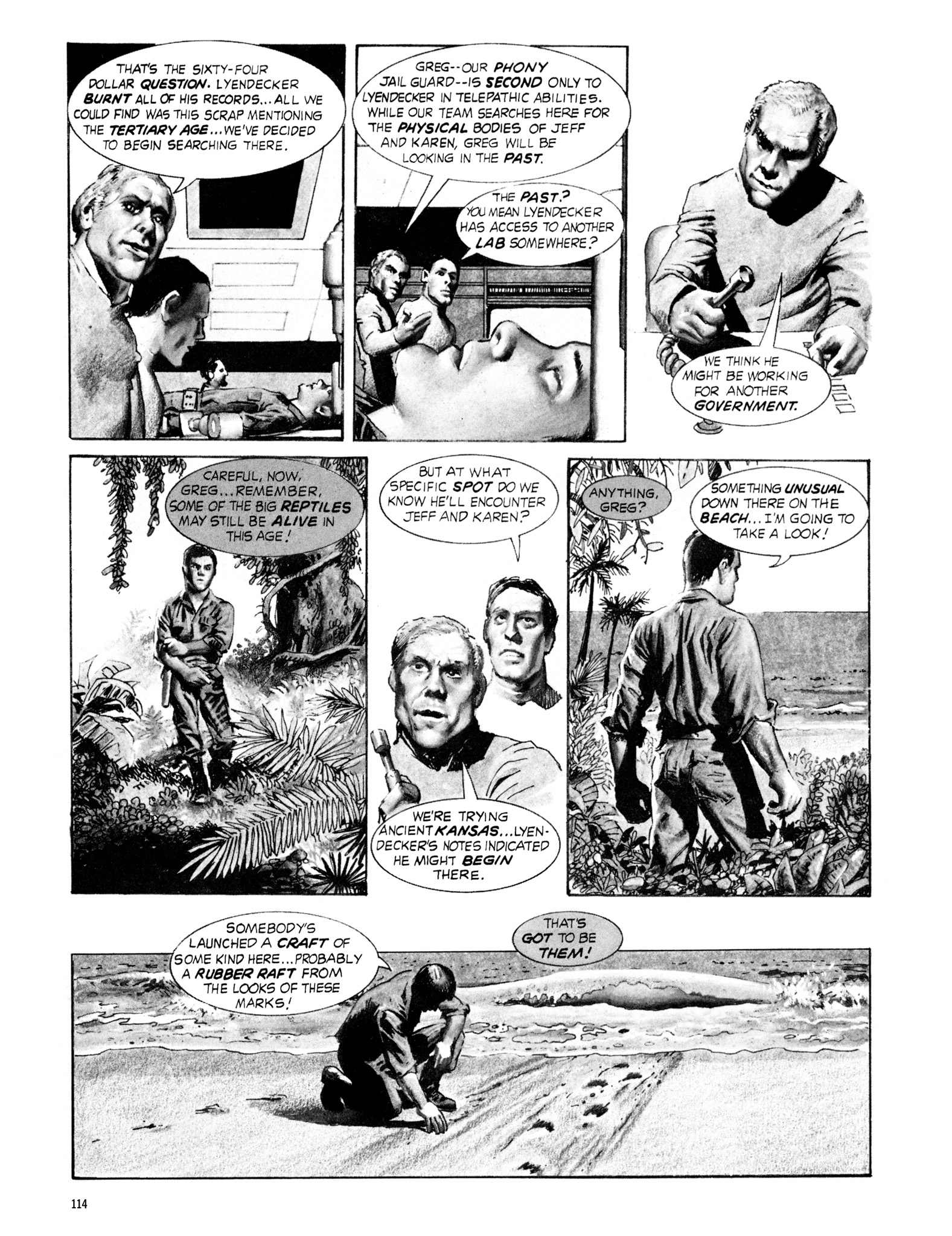 Read online Eerie Archives comic -  Issue # TPB 18 - 115