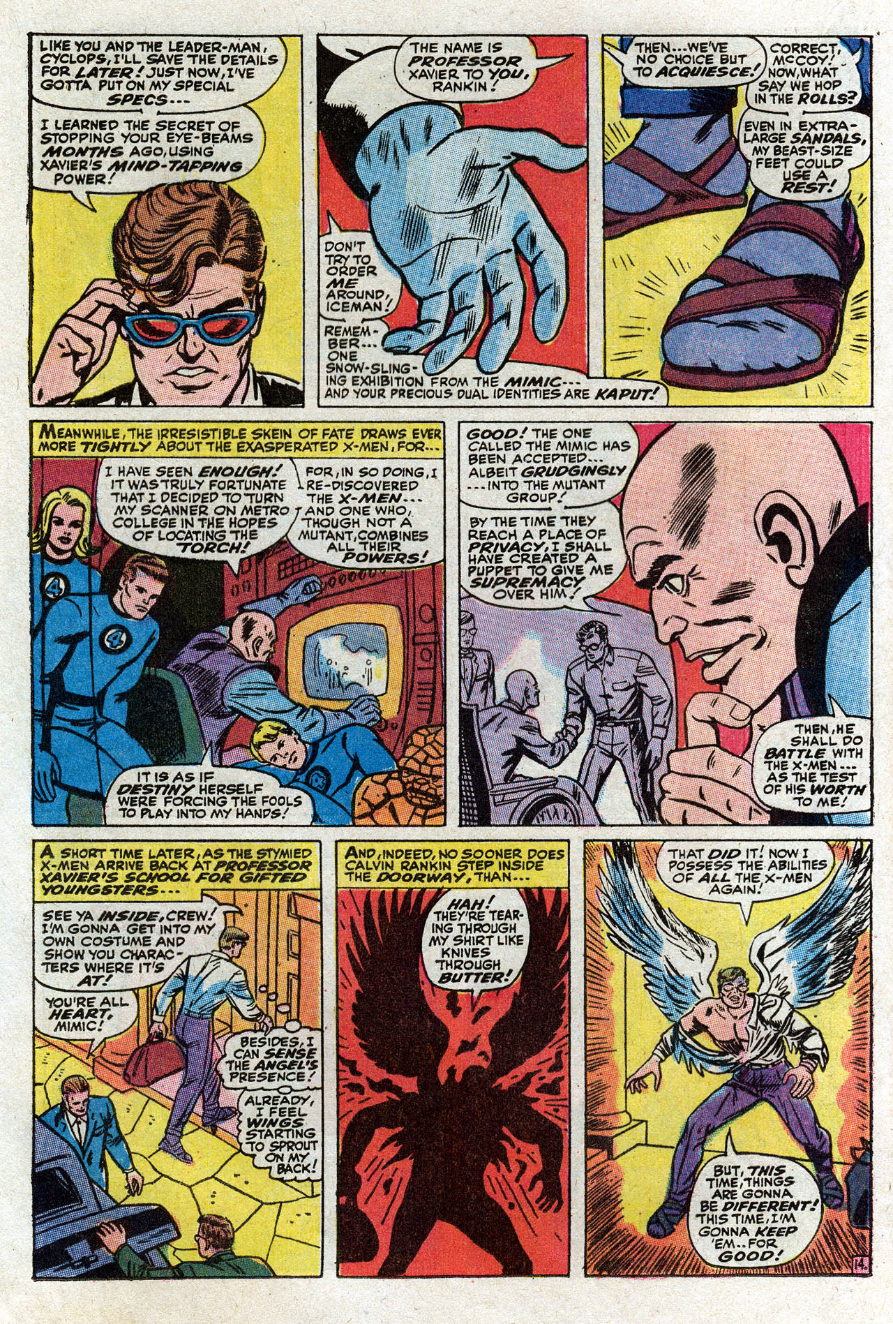 Read online Uncanny X-Men (1963) comic -  Issue #75 - 19