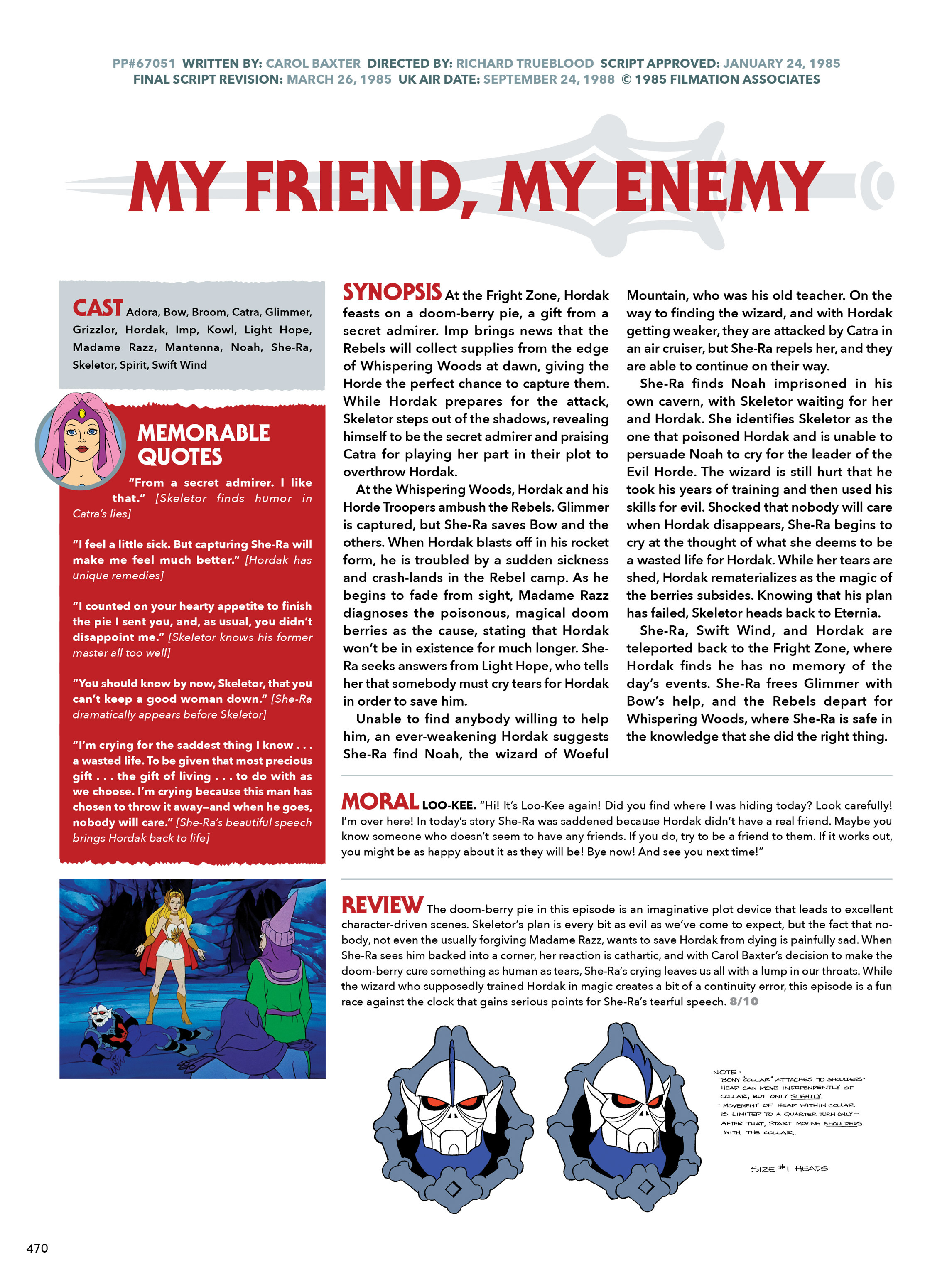 Read online He-Man and She-Ra: A Complete Guide to the Classic Animated Adventures comic -  Issue # TPB (Part 3) - 70