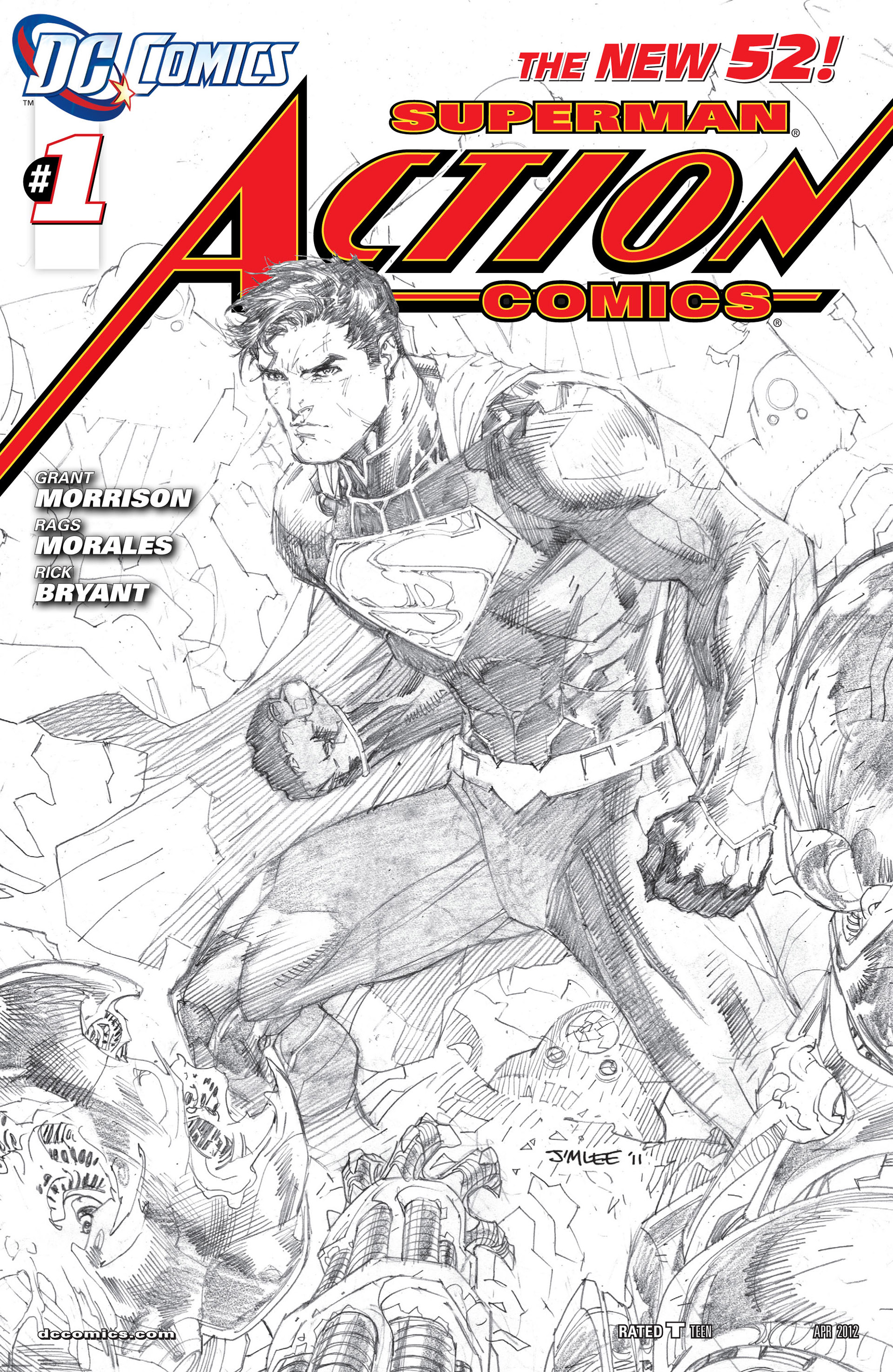 Read online Action Comics (2011) comic -  Issue #1 - 6