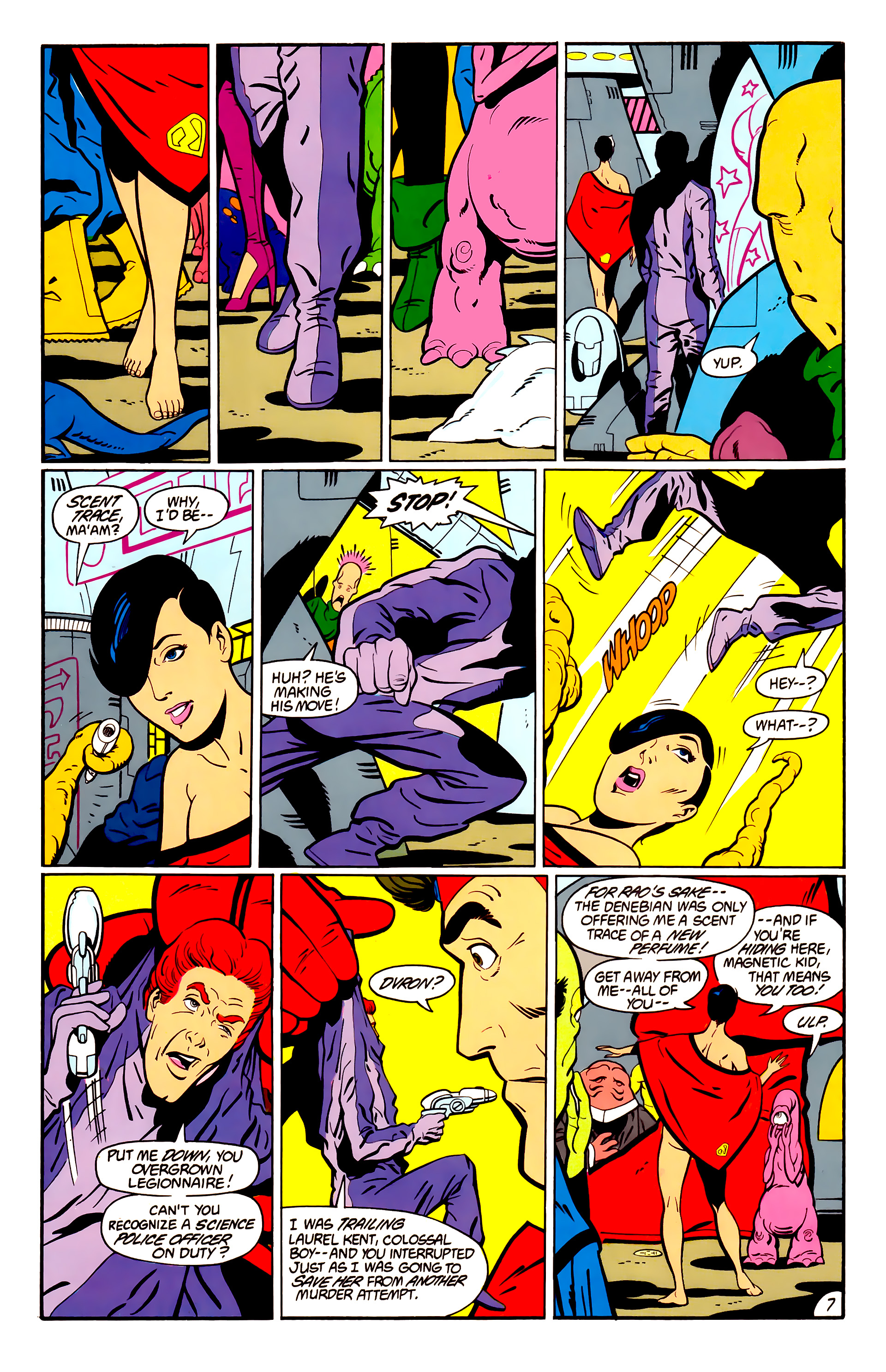 Legion of Super-Heroes (1984) _Annual_1 Page 8