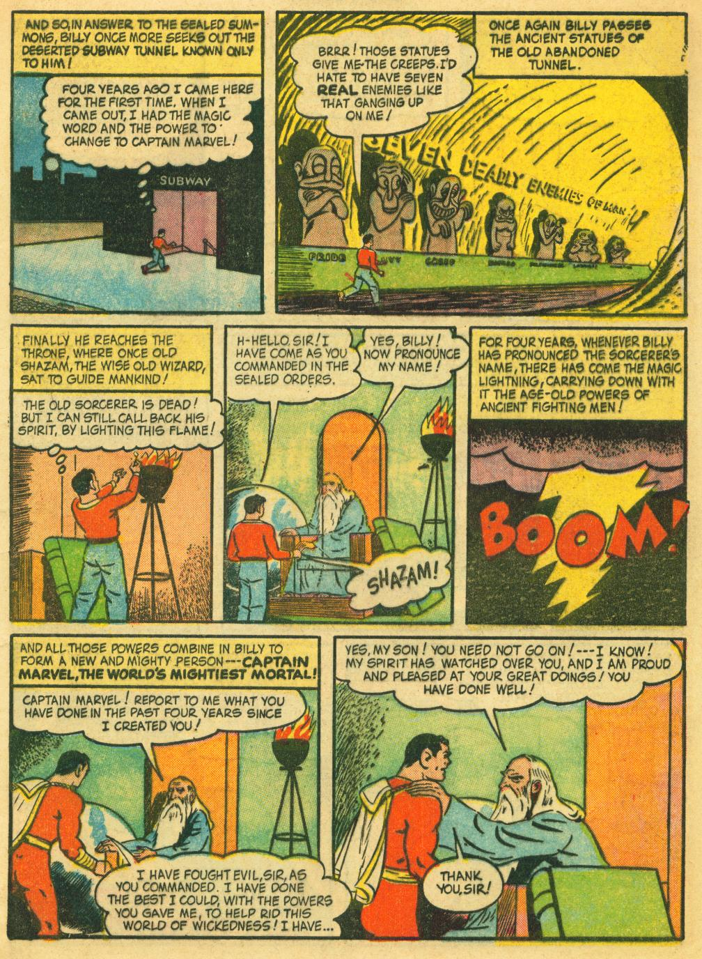 Captain Marvel Adventures issue 41 - Page 5