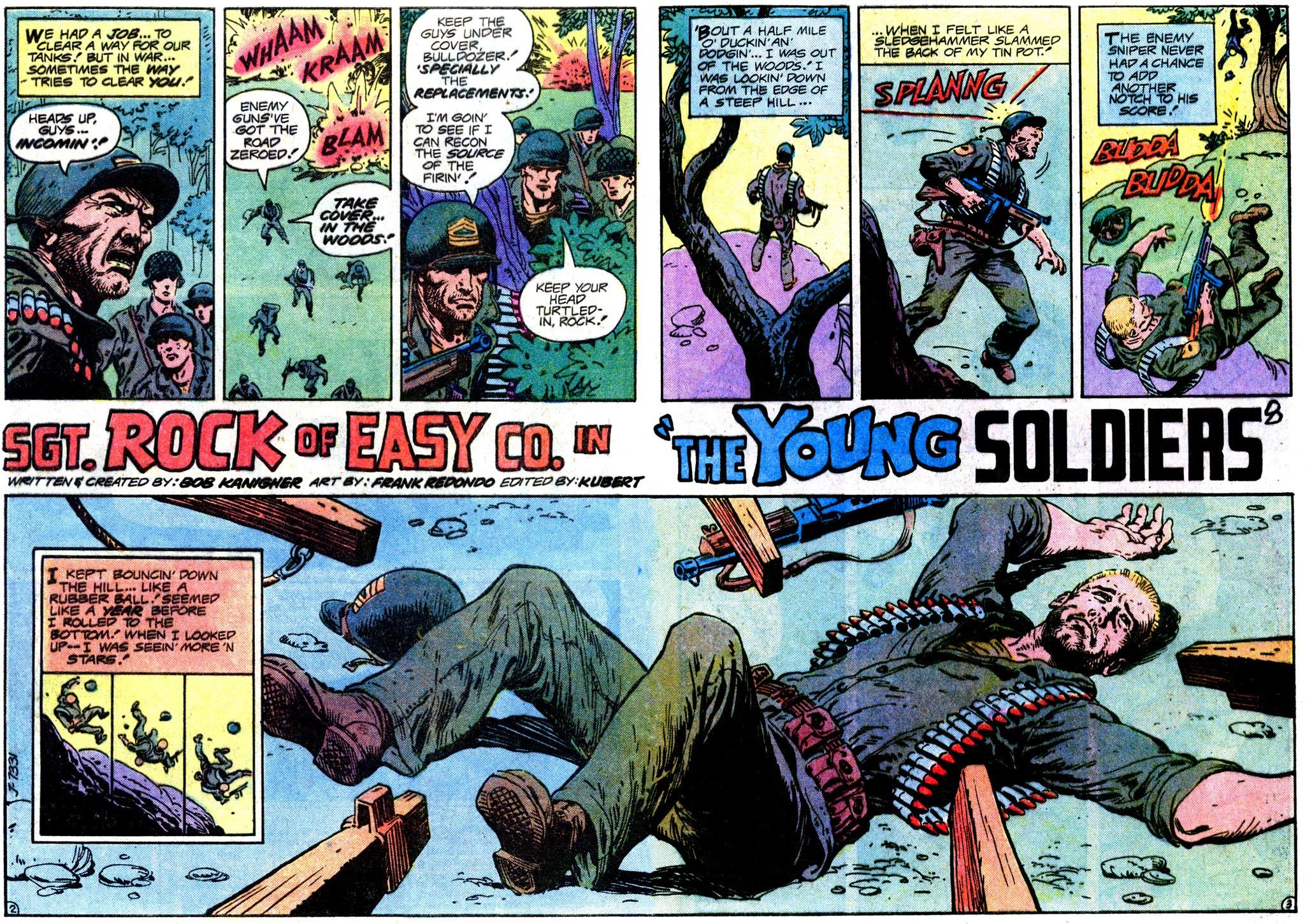 Read online Sgt. Rock comic -  Issue #358 - 3