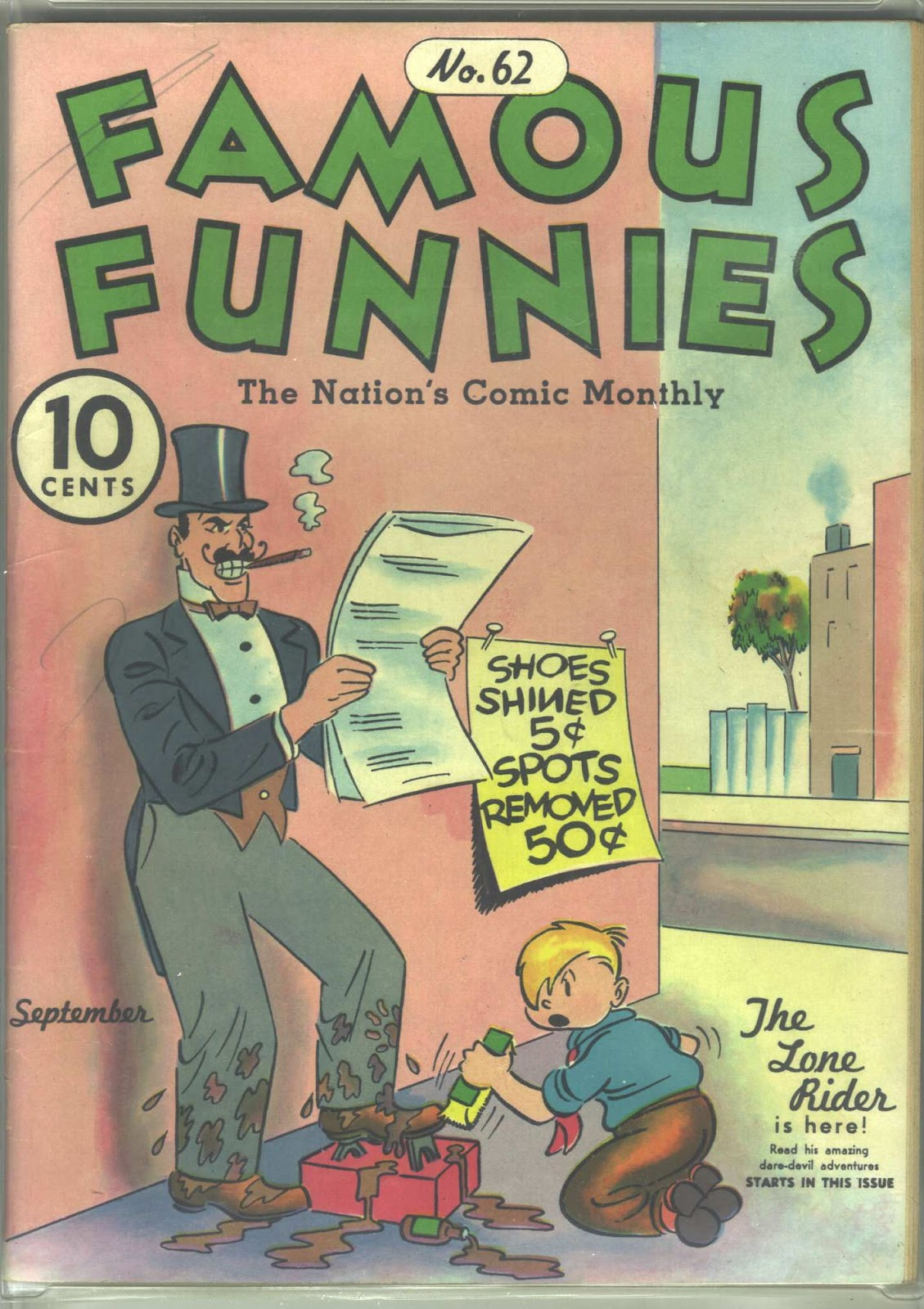 Read online Famous Funnies comic -  Issue #62 - 1