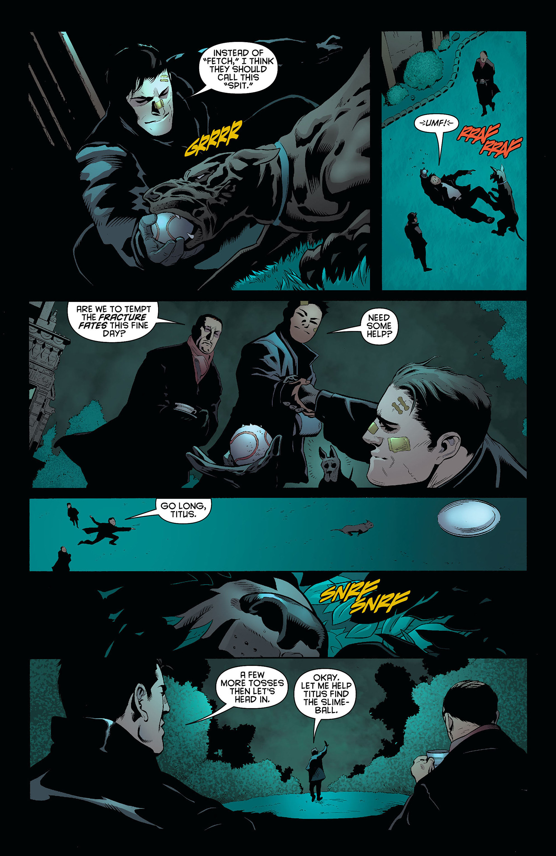 Read online Batman and Robin (2011) comic -  Issue #8 - 19