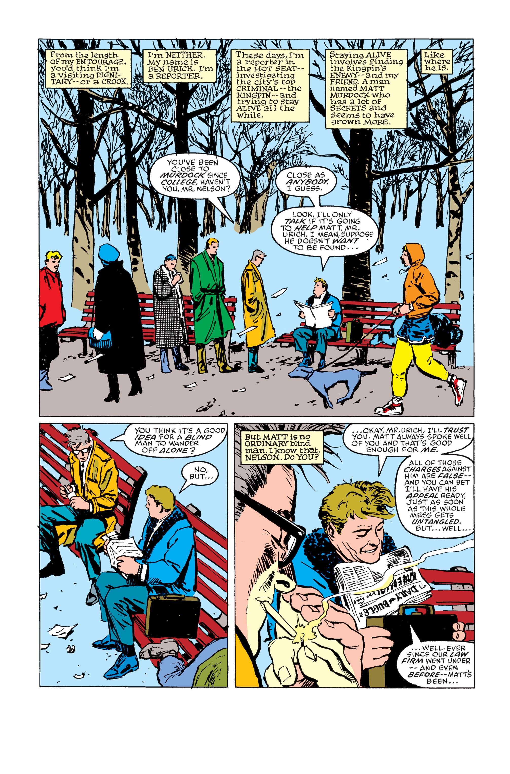 Read online Daredevil: Born Again comic -  Issue # Full - 153
