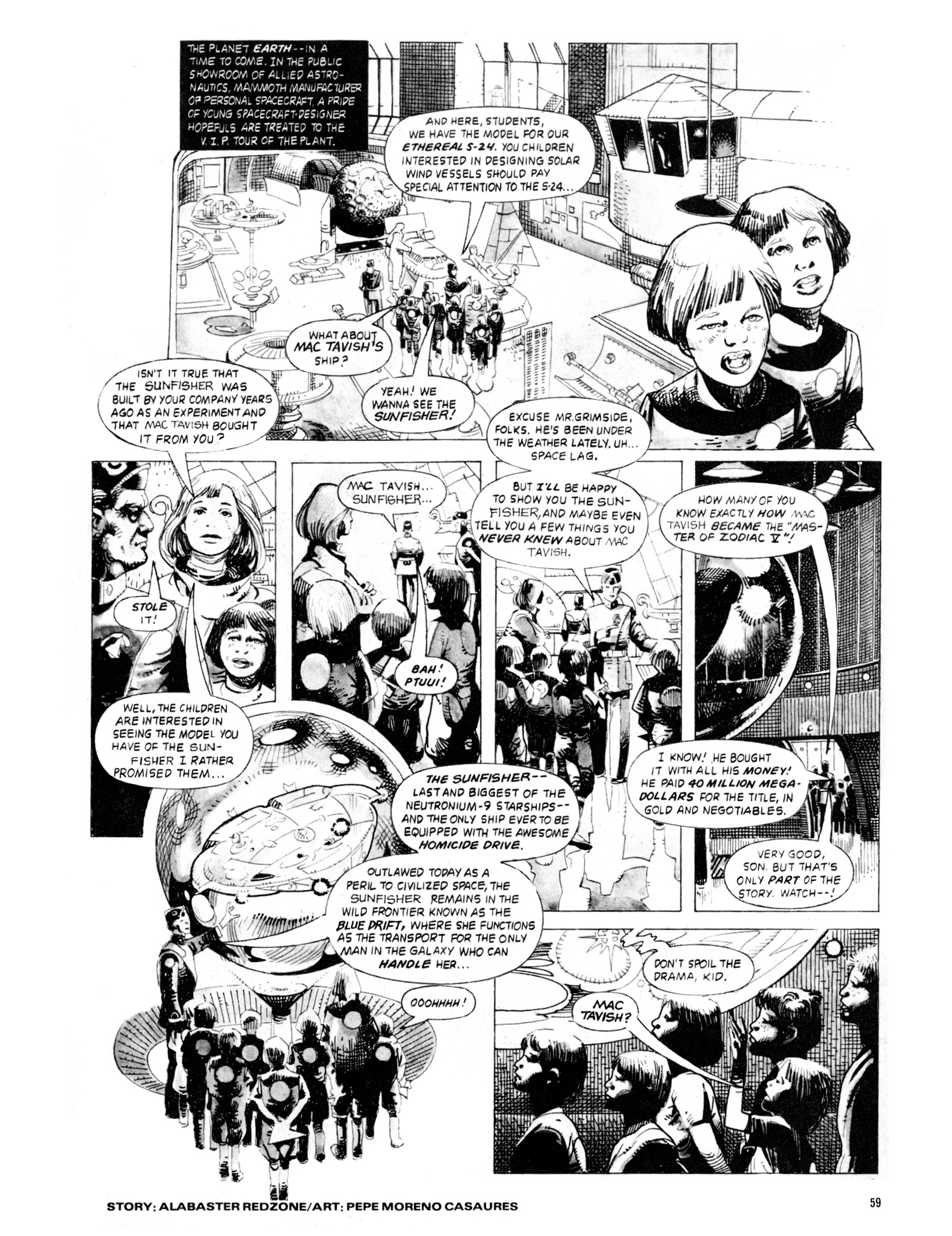 Read online Eerie Archives comic -  Issue # TPB 20 - 59