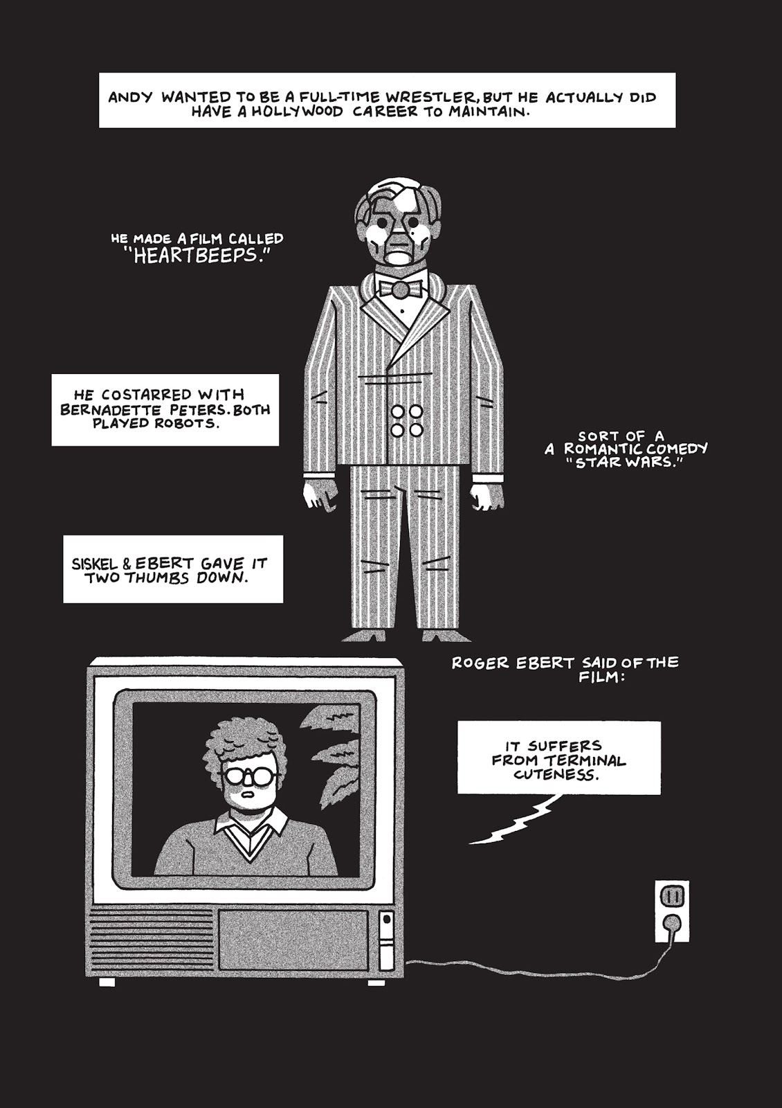 Read online Is This Guy For Real?: The Unbelievable Andy Kaufman comic -  Issue # TPB (Part 2) - 69