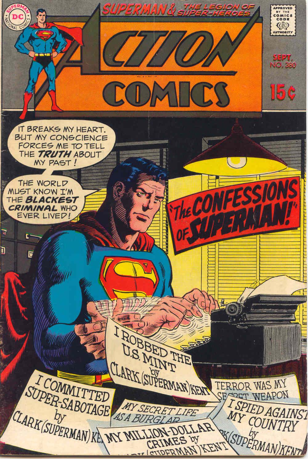 Action Comics (1938) 380 Page 1