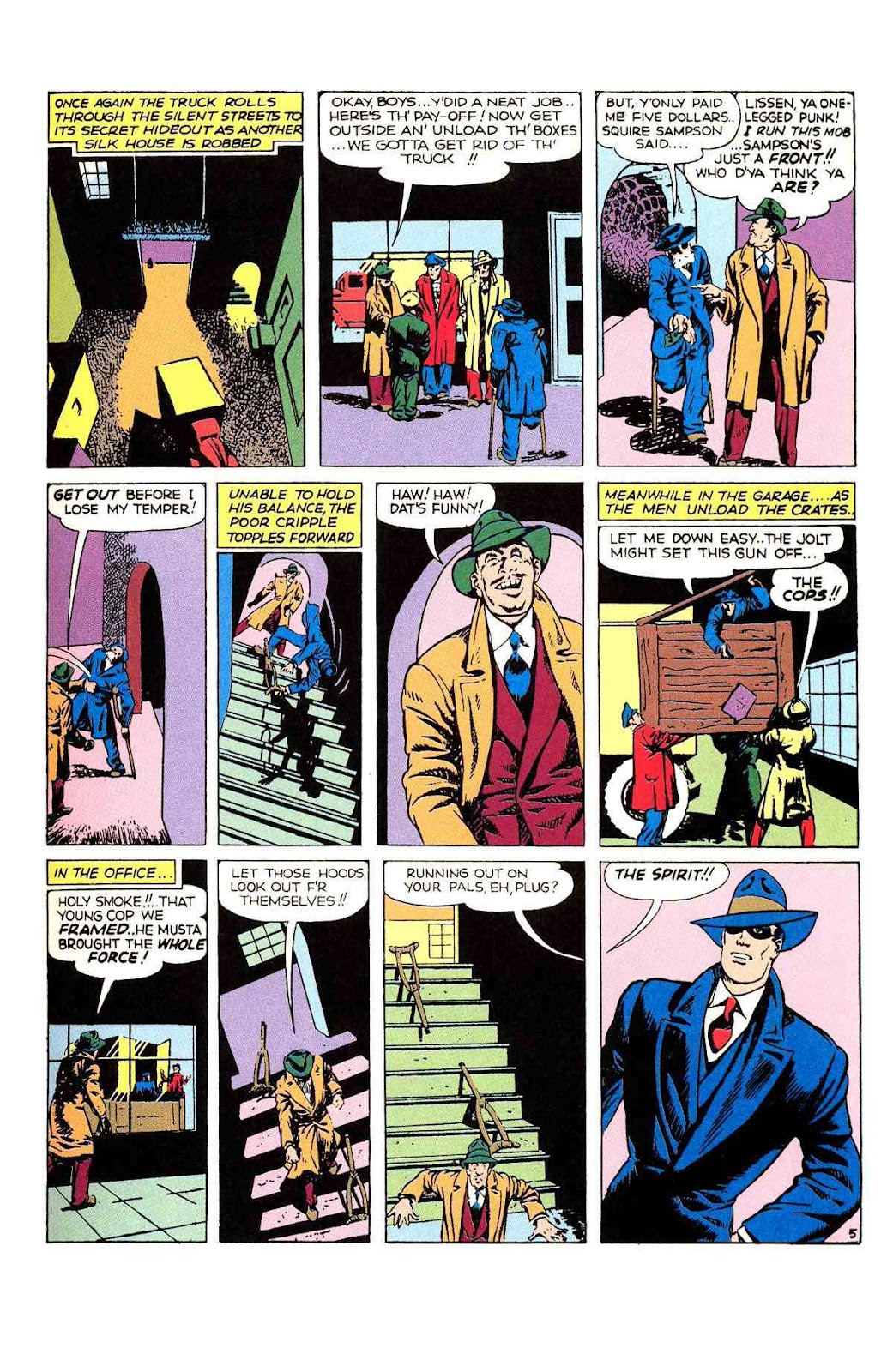 Read online Will Eisner's The Spirit Archives comic -  Issue # TPB 2 (Part 1) - 13