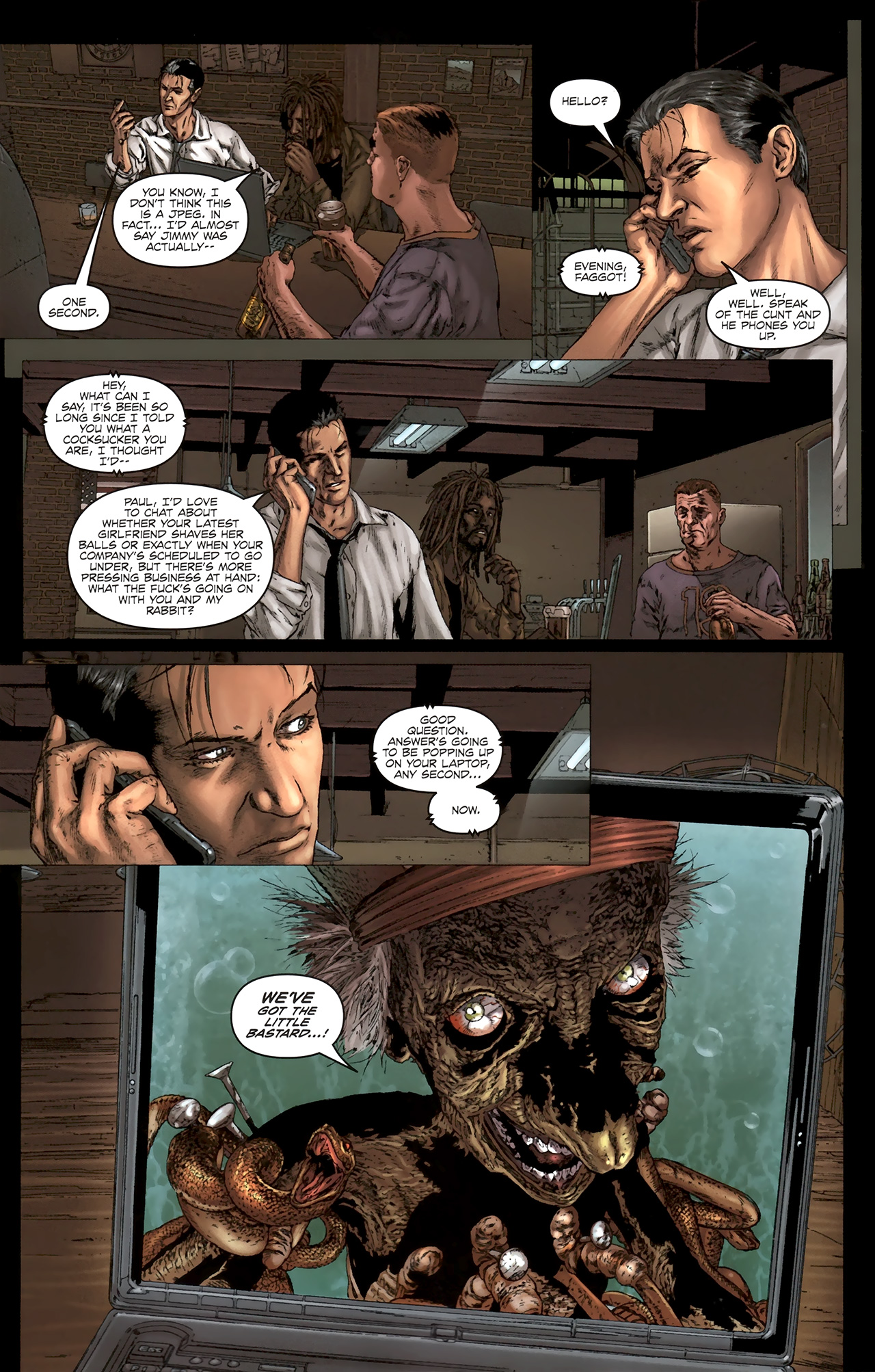 Read online Chronicles of Wormwood: The Last Battle comic -  Issue #5 - 13