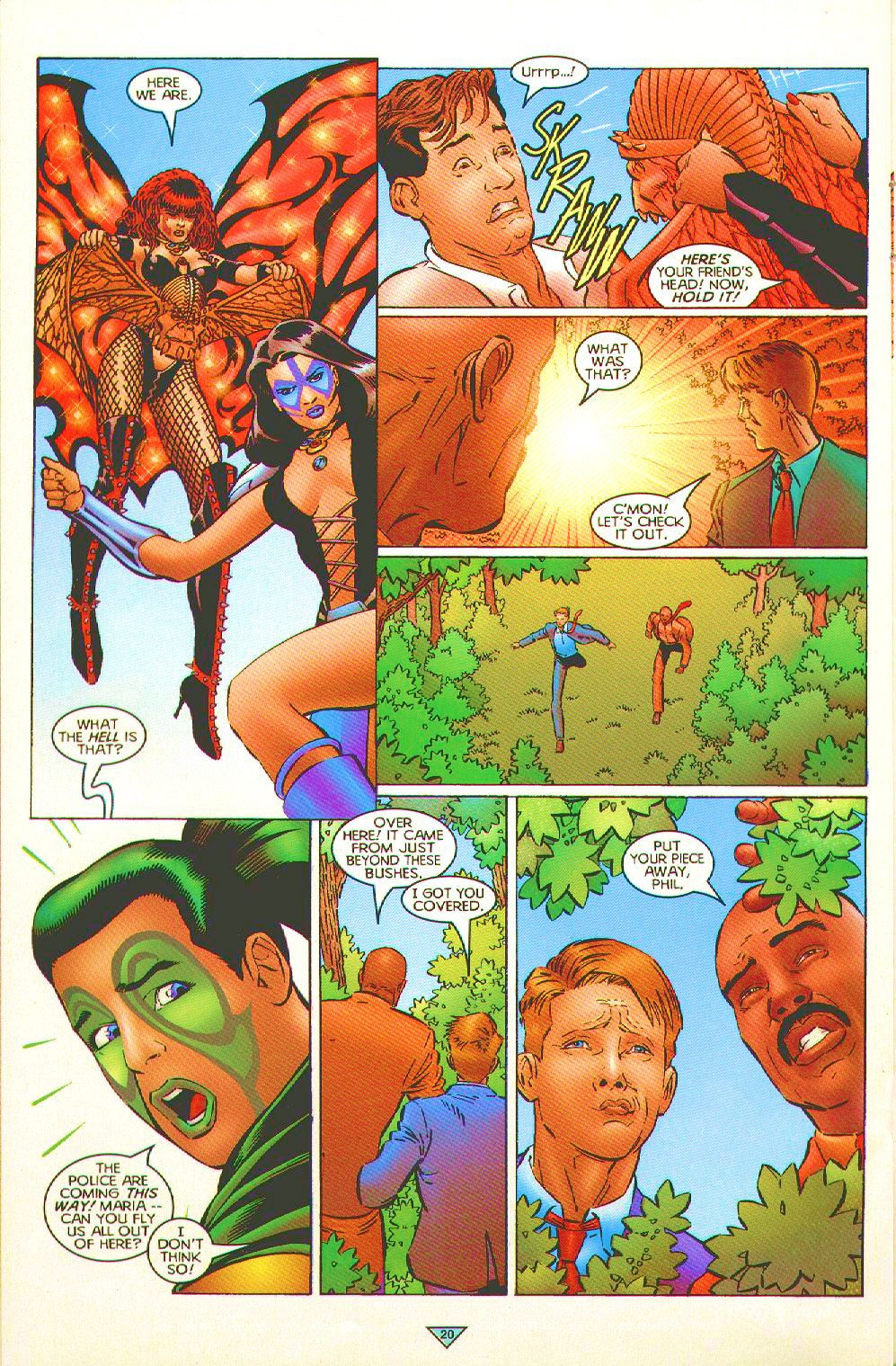 Read online Trinity Angels comic -  Issue #3 - 16