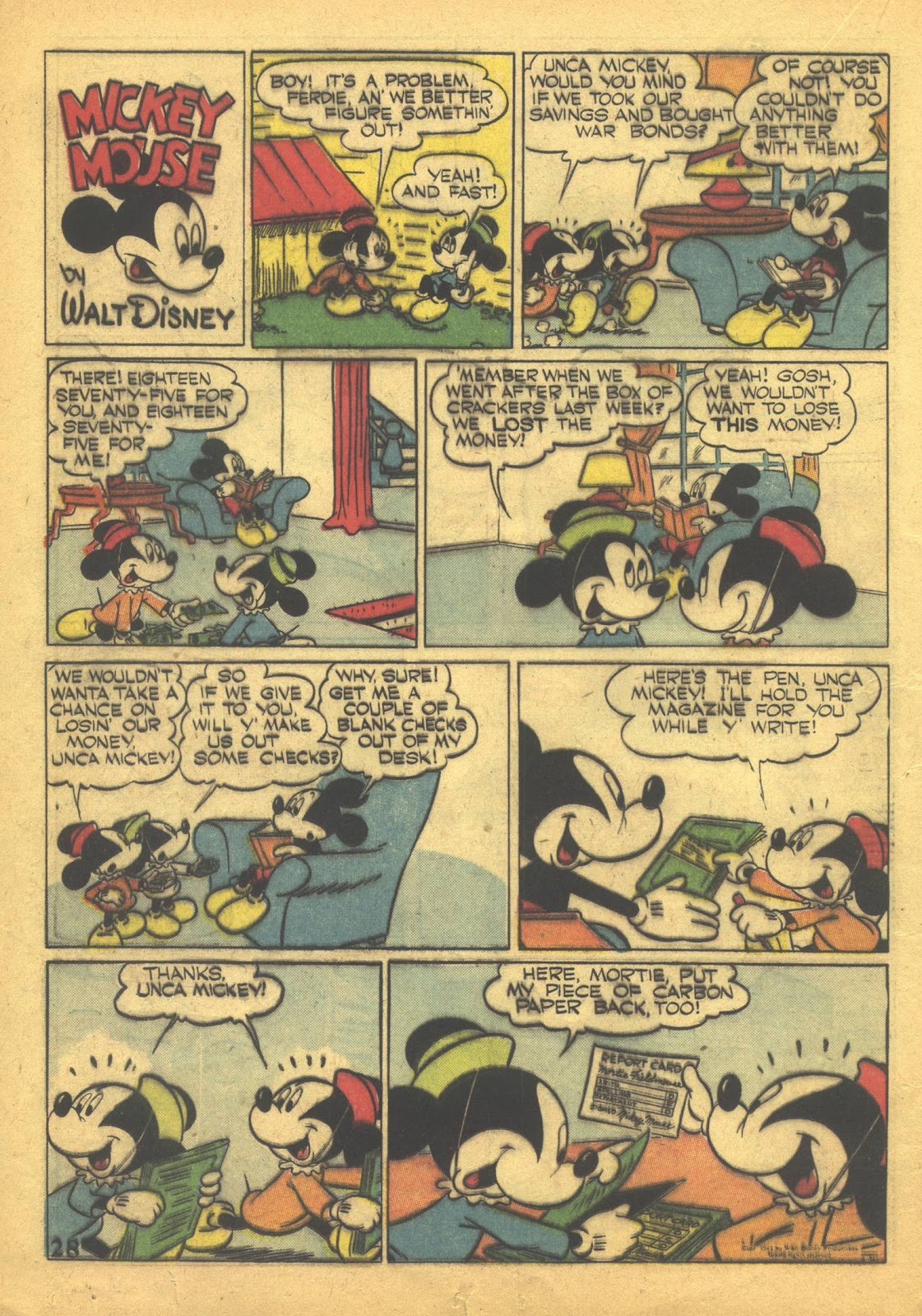 Walt Disney's Comics and Stories issue 41 - Page 30
