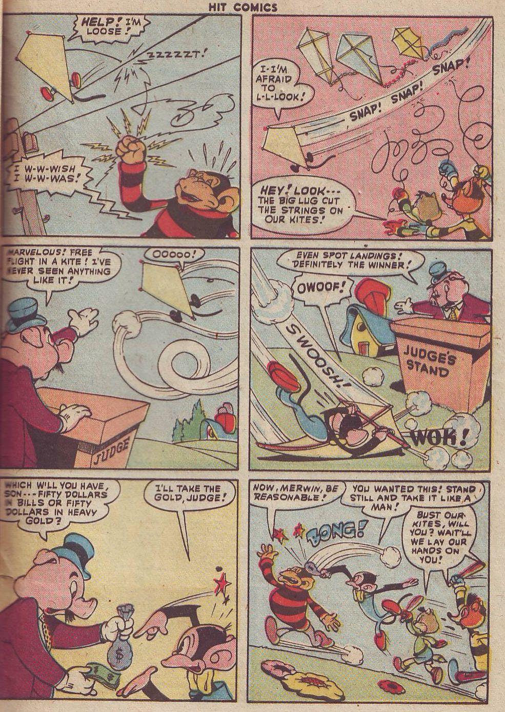 Read online Hit Comics comic -  Issue #51 - 49