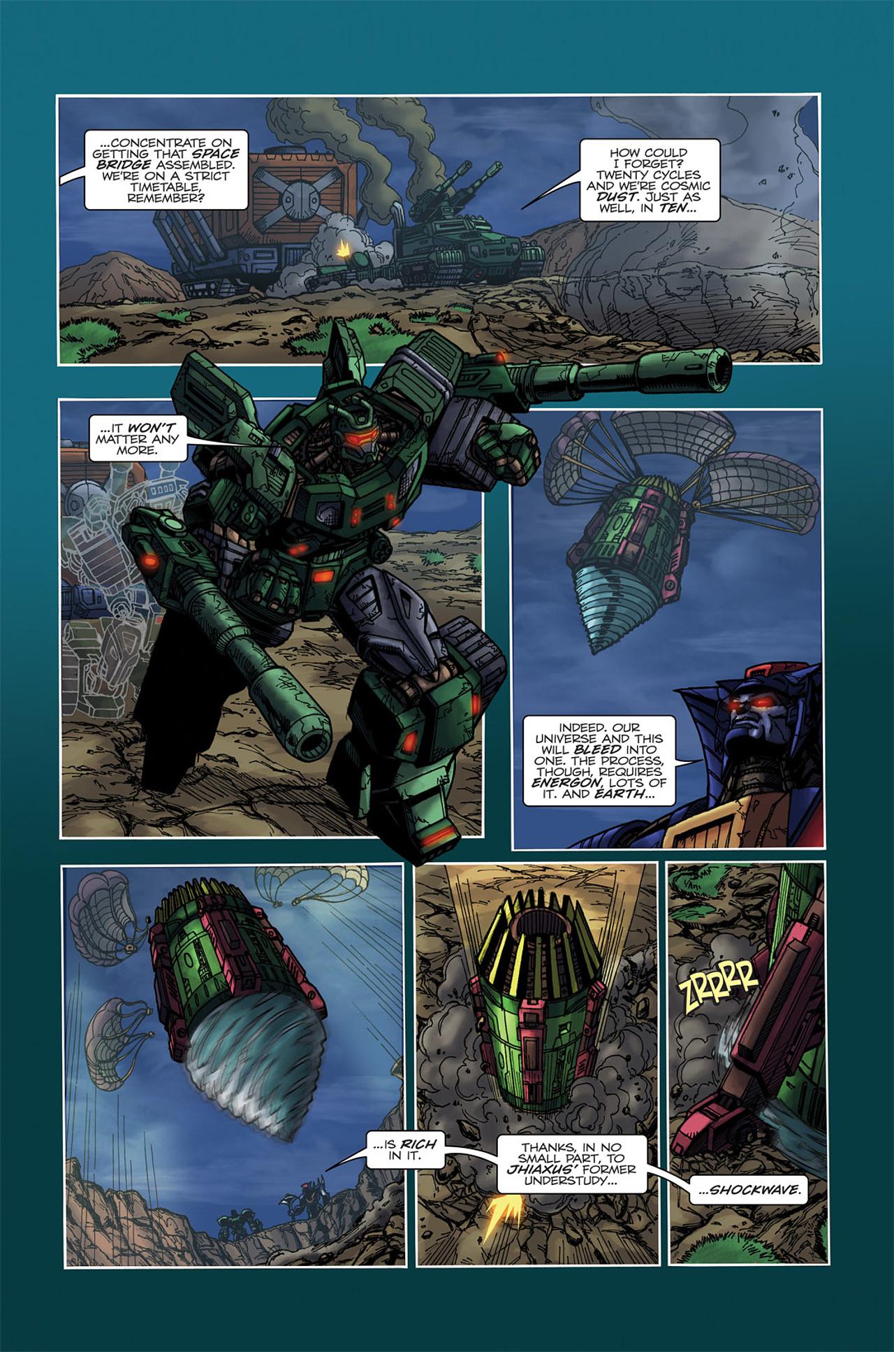 Read online Transformers Spotlight: Doubledealer comic -  Issue # Full - 8