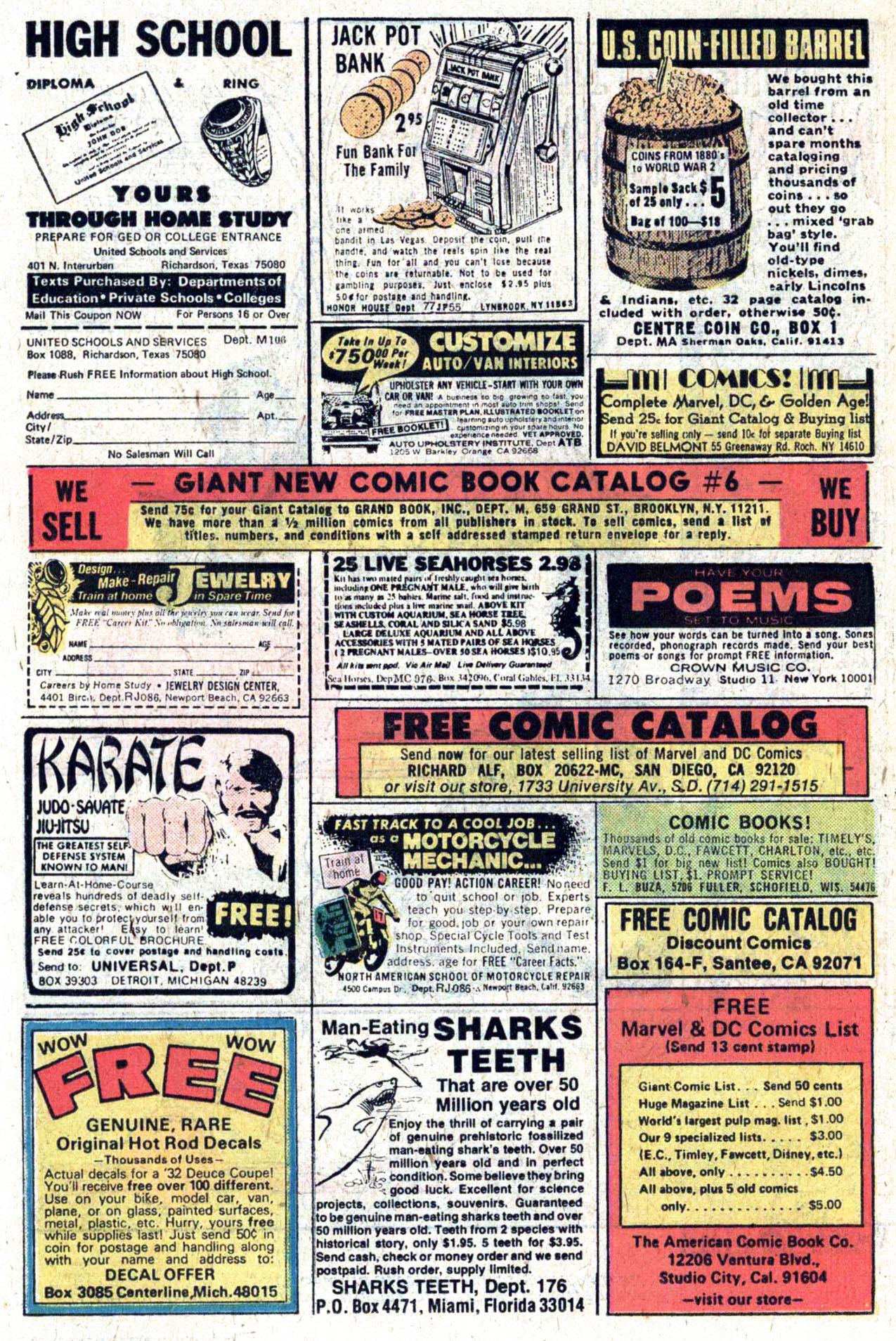 Read online Amazing Adventures (1970) comic -  Issue #39 - 25