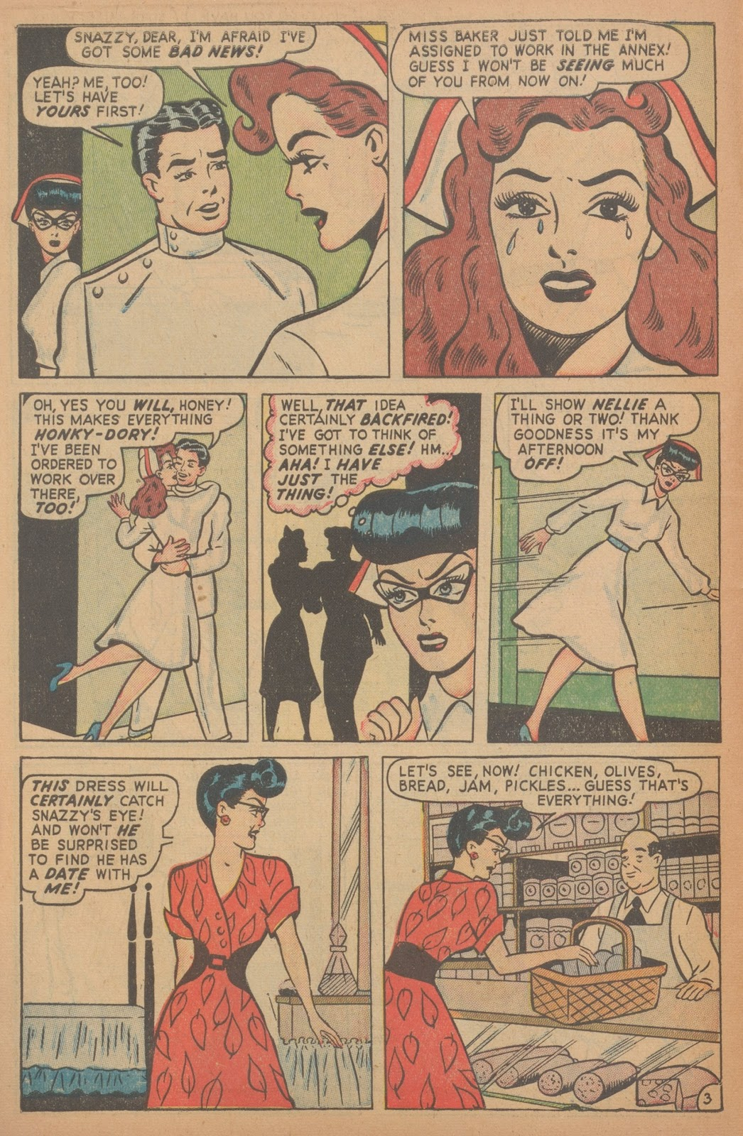 Read online Nellie The Nurse (1945) comic -  Issue #18 - 12