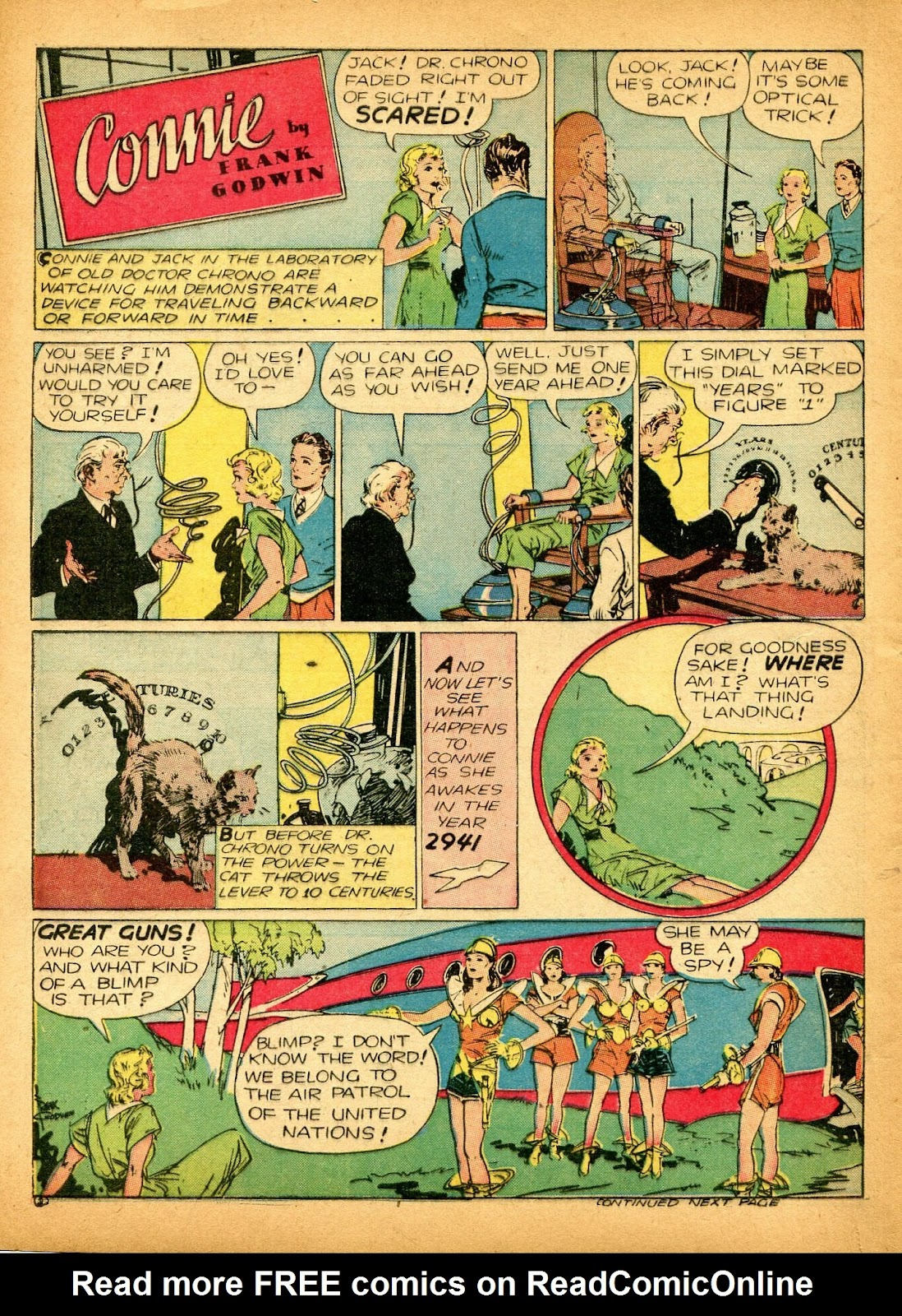 Read online Famous Funnies comic -  Issue #84 - 54