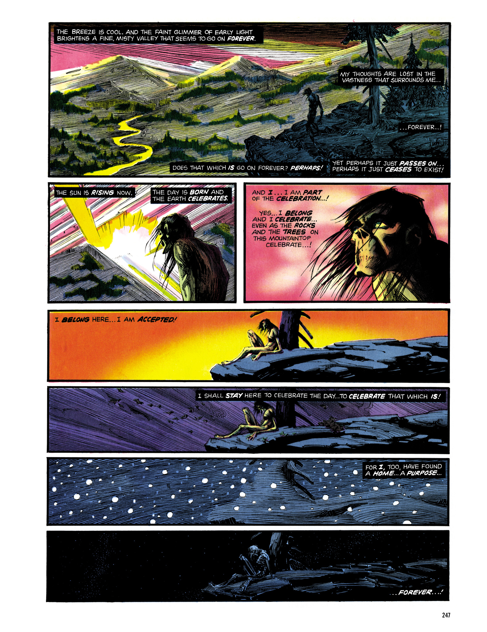 Read online Eerie Archives comic -  Issue # TPB 14 - 248
