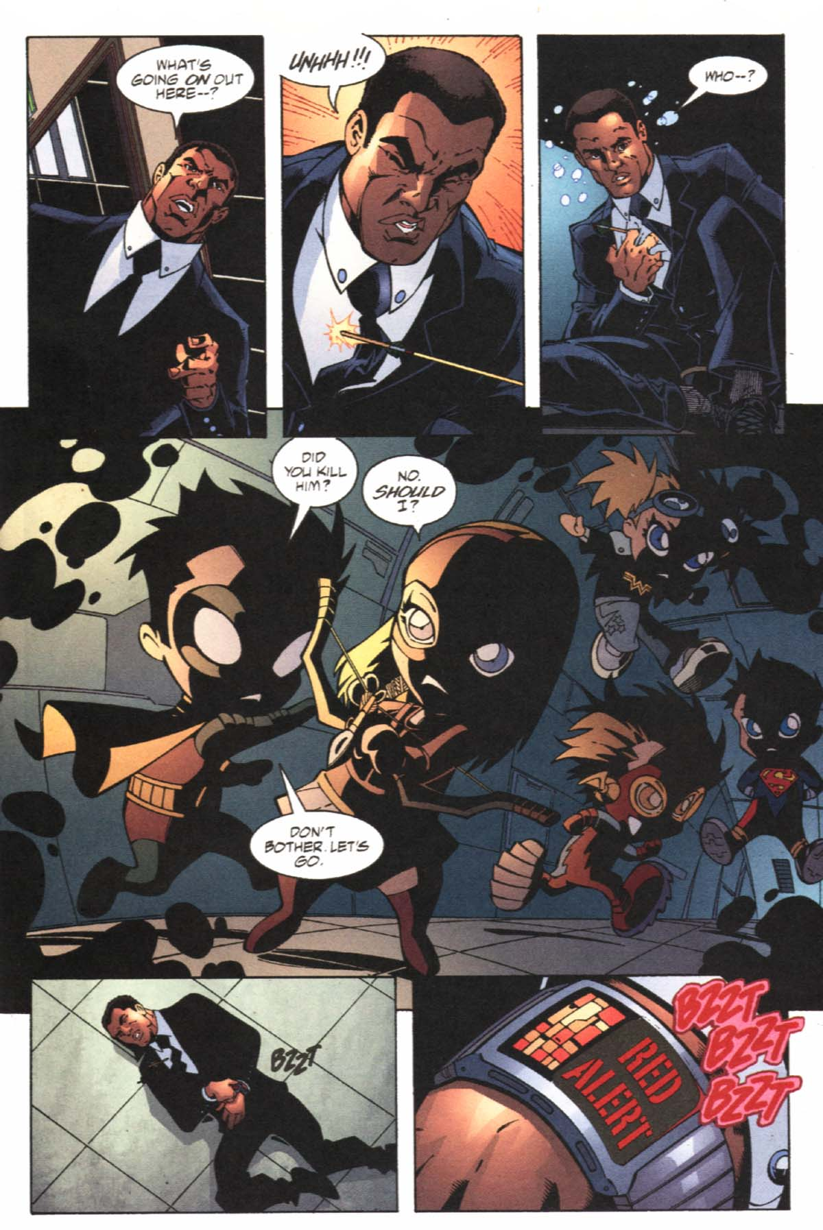 Read online SpyBoy/Young Justice comic -  Issue #1 - 5