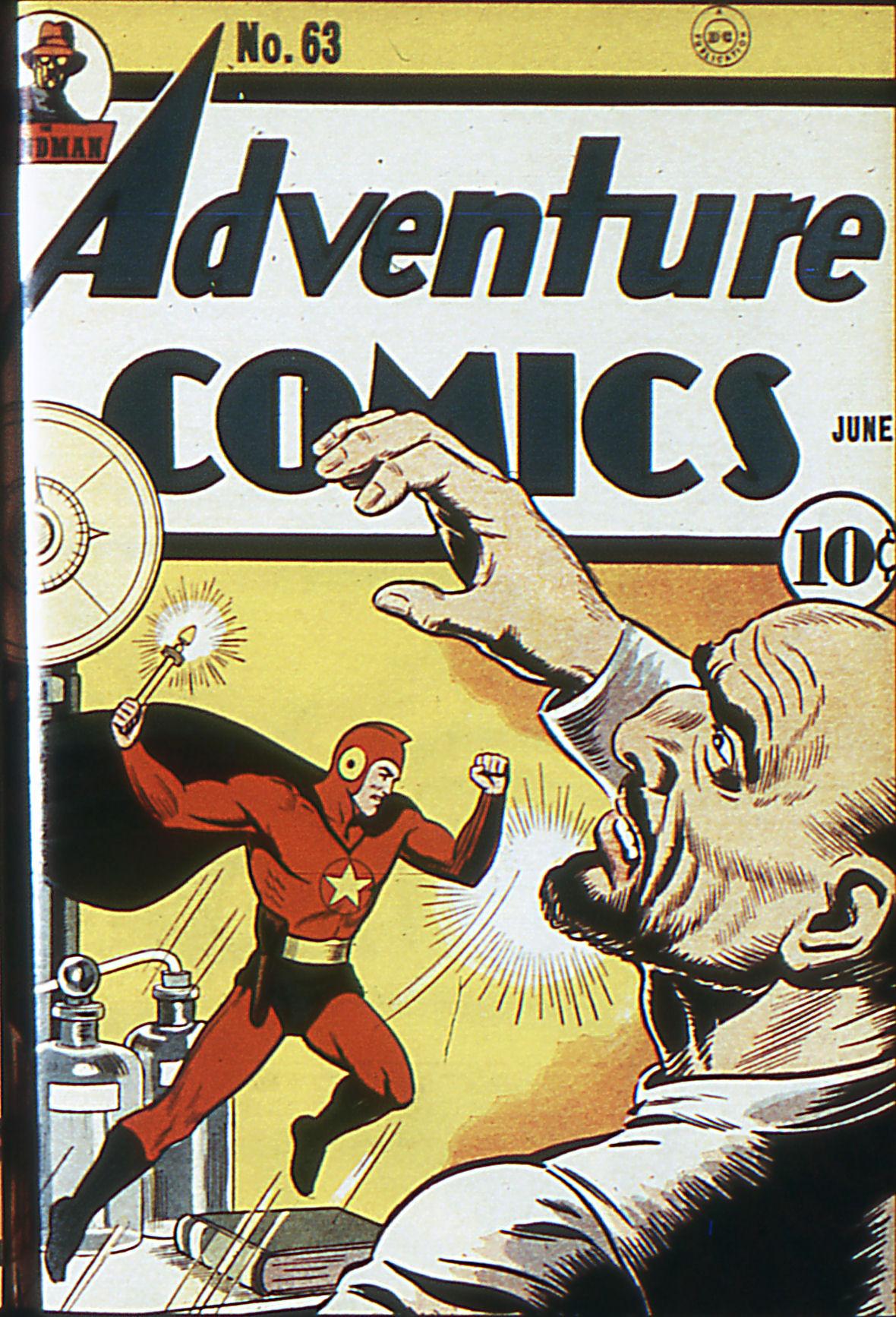 Read online Adventure Comics (1938) comic -  Issue #63 - 1