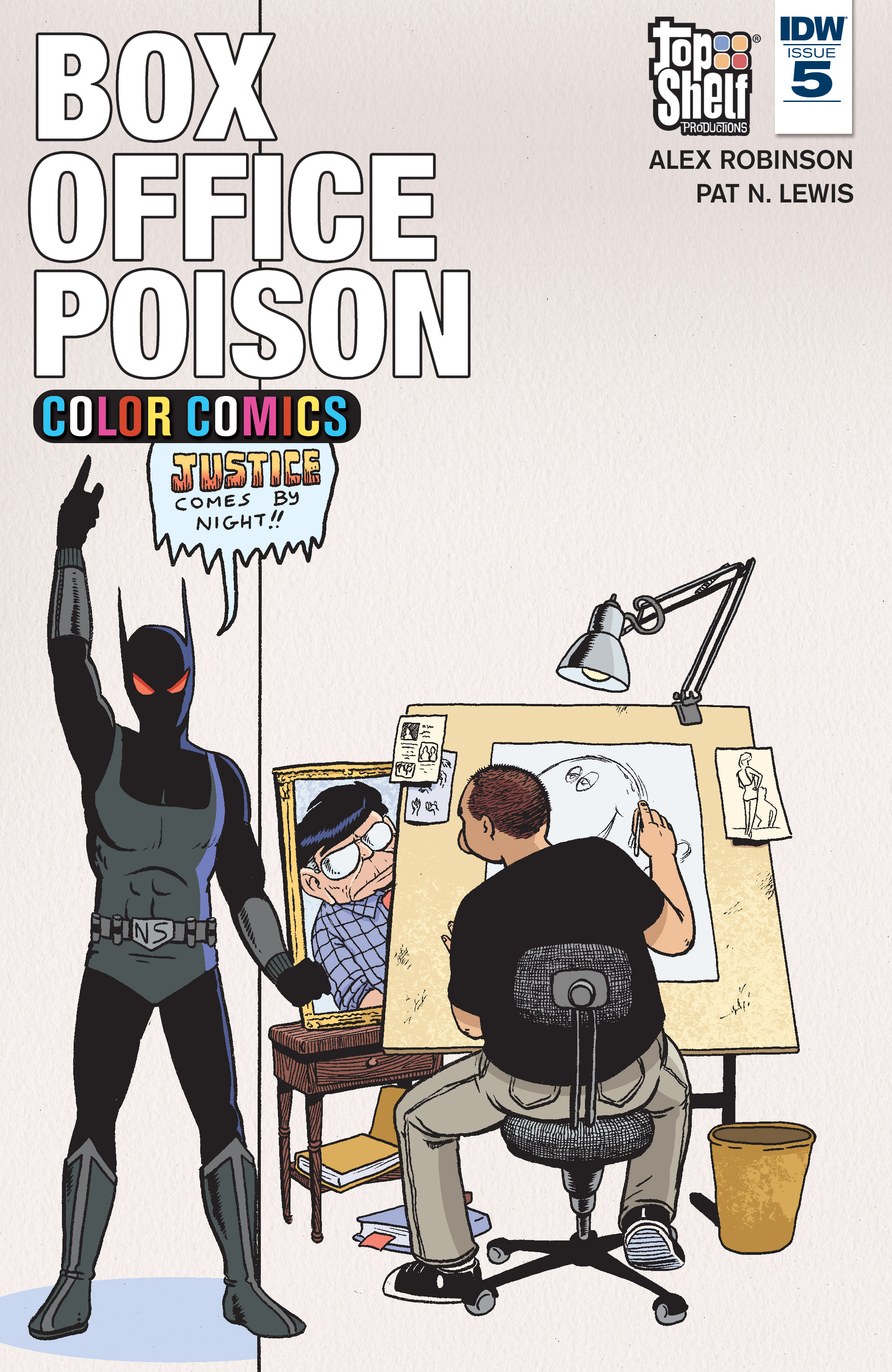Read online Box Office Poison Color Comics comic -  Issue #5 - 1