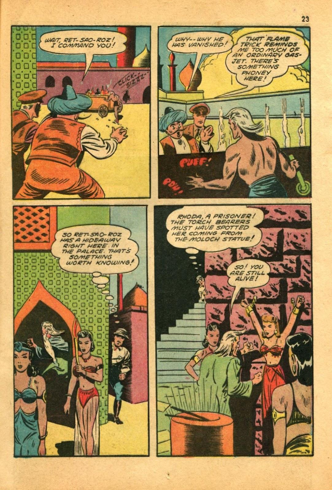 Read online Super-Magician Comics comic -  Issue #11 - 23