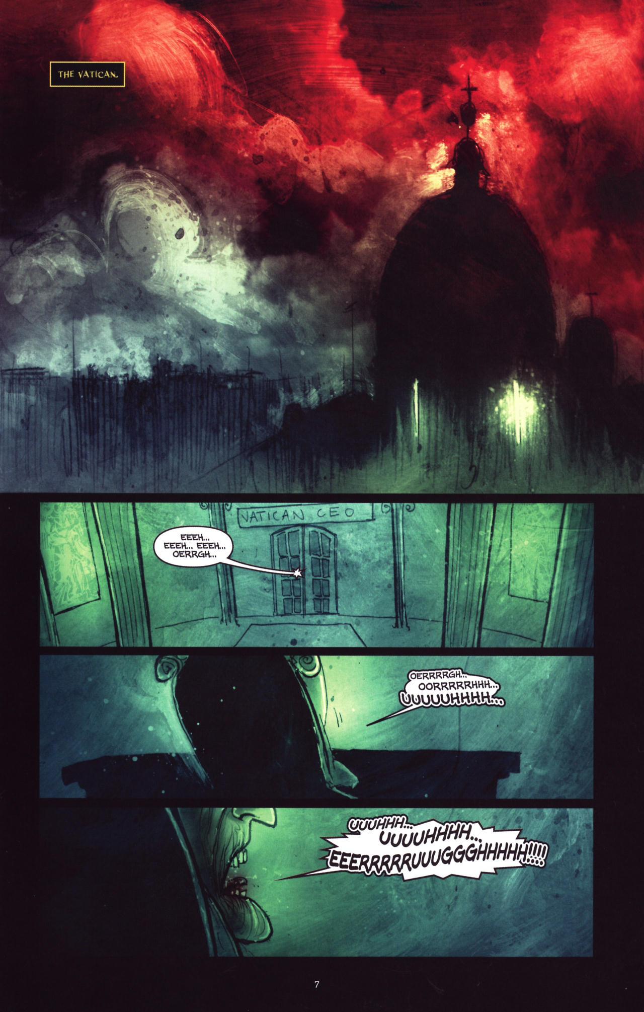 Read online Wormwood: Gentleman Corpse comic -  Issue #8 - 8