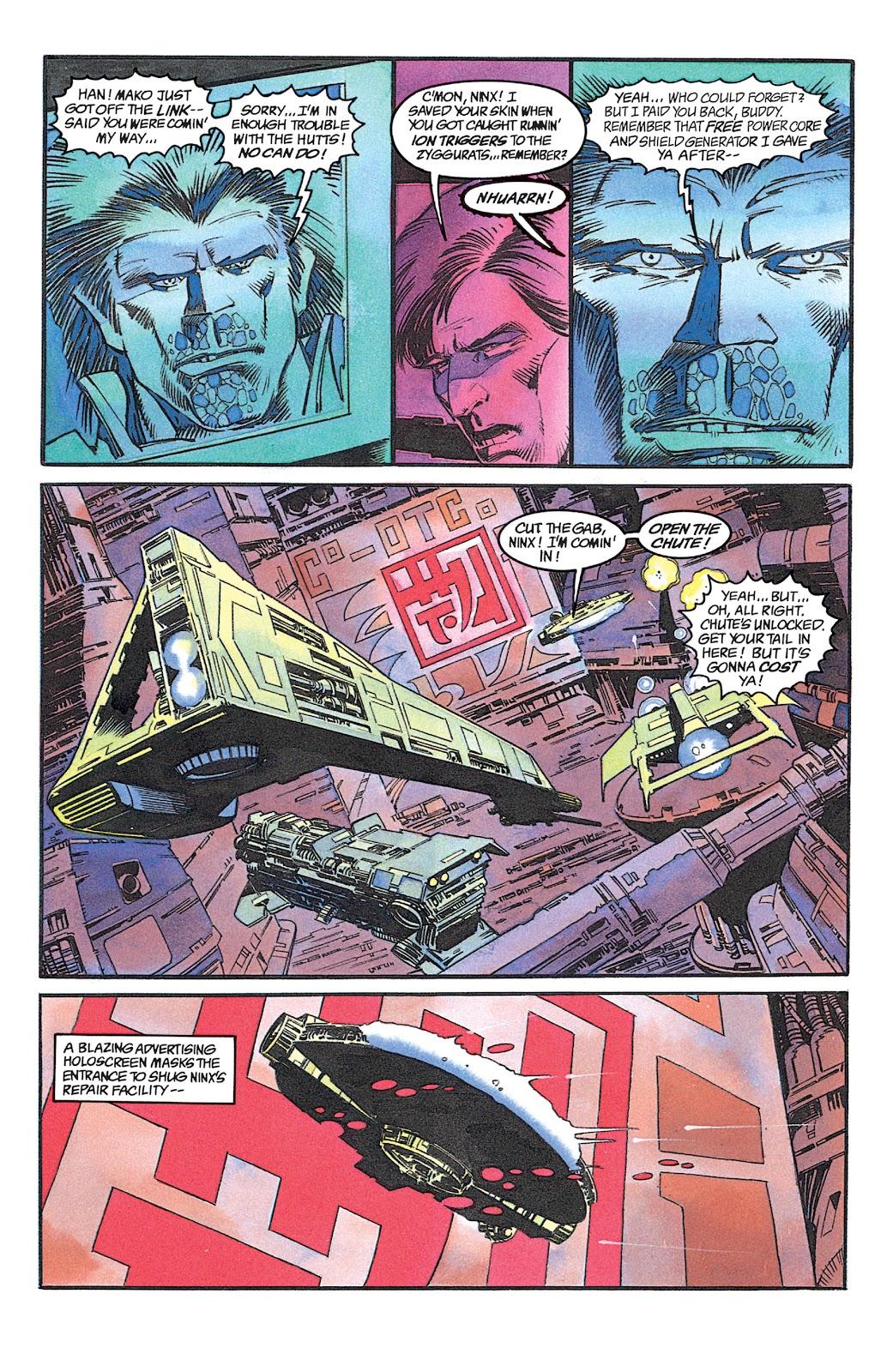 Read online Star Wars: Dark Empire Trilogy comic -  Issue # TPB (Part 1) - 74