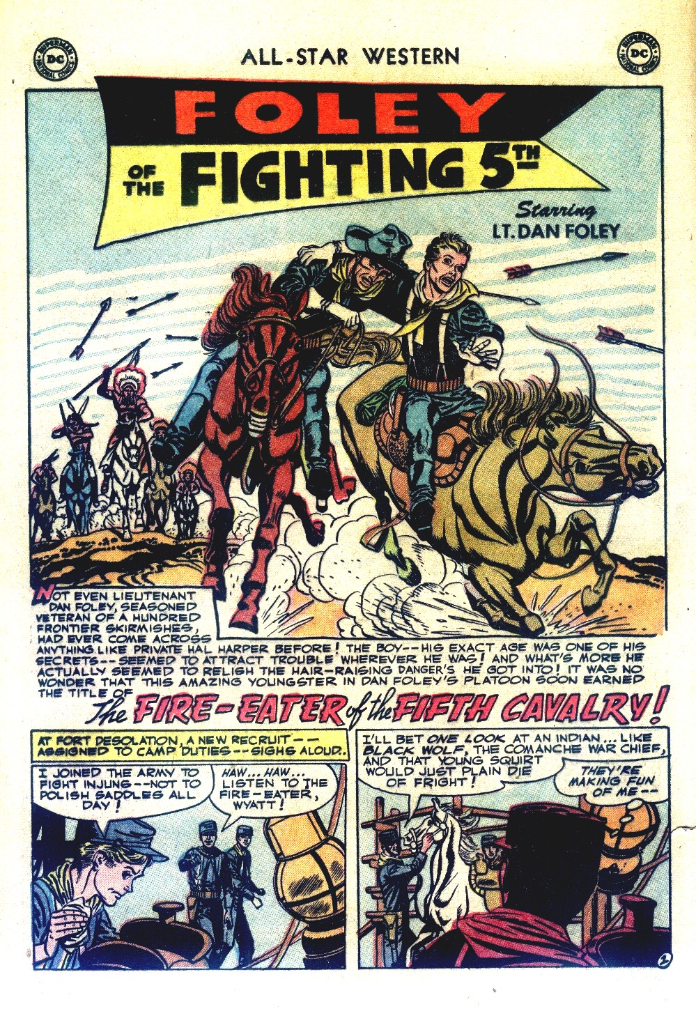 Read online All-Star Western (1951) comic -  Issue #66 - 12