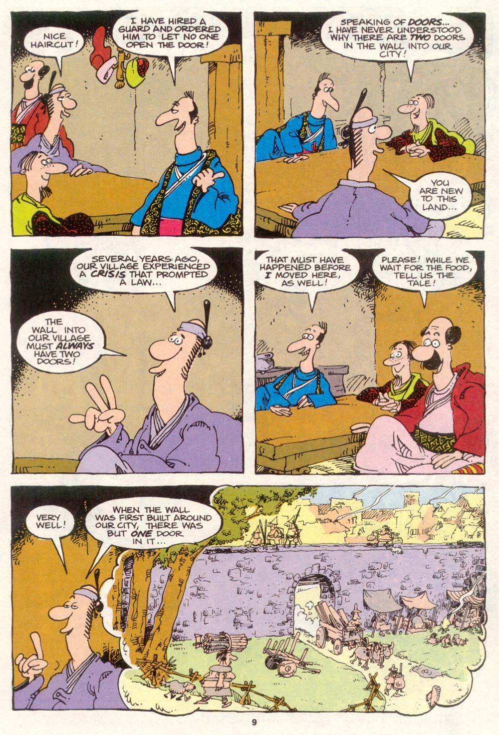 Read online Sergio Aragonés Groo the Wanderer comic -  Issue #86 - 7