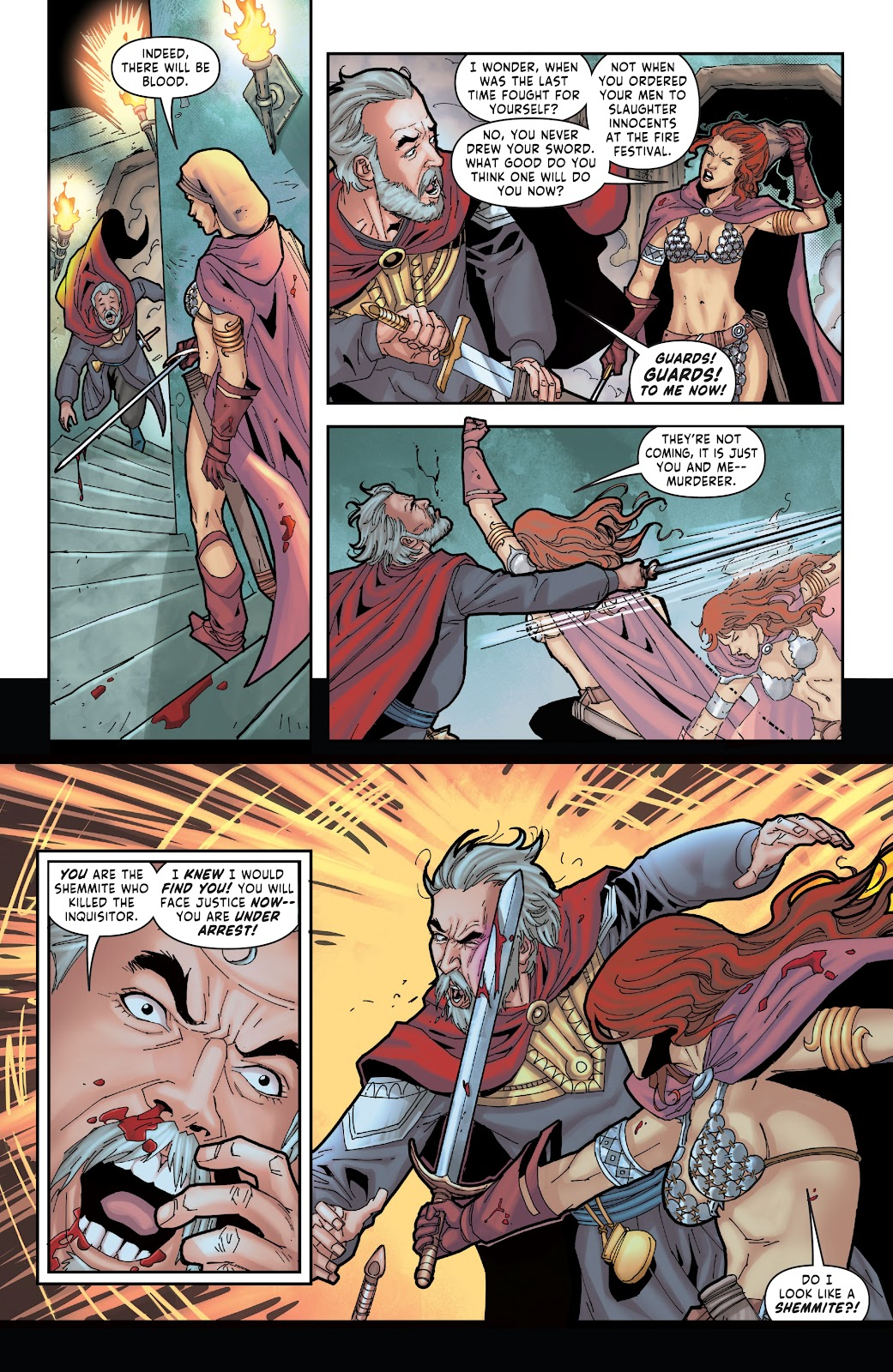 Red Sonja: The Price of Blood issue 2 - Page 26