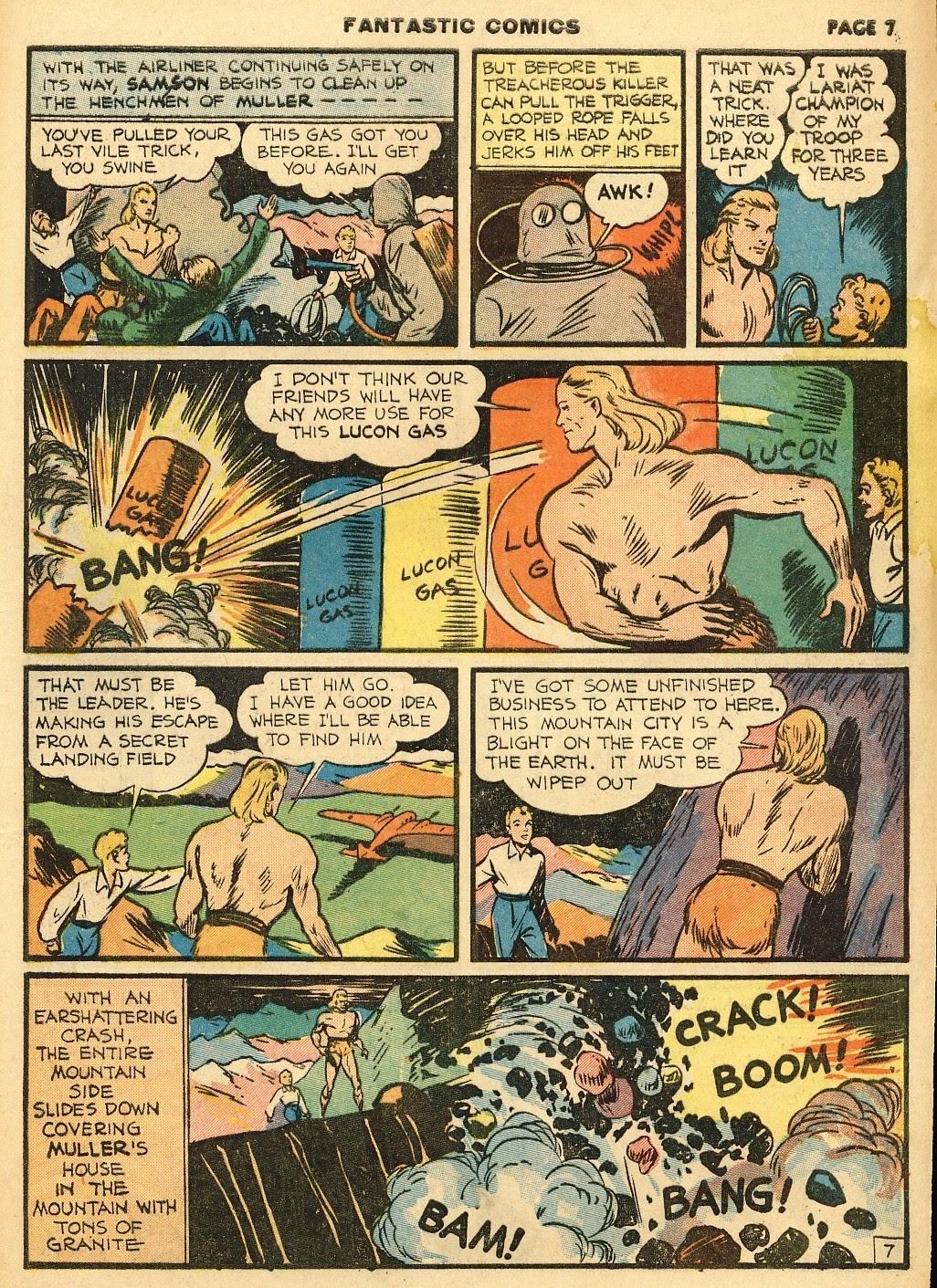 Read online Fantastic Comics comic -  Issue #10 - 8