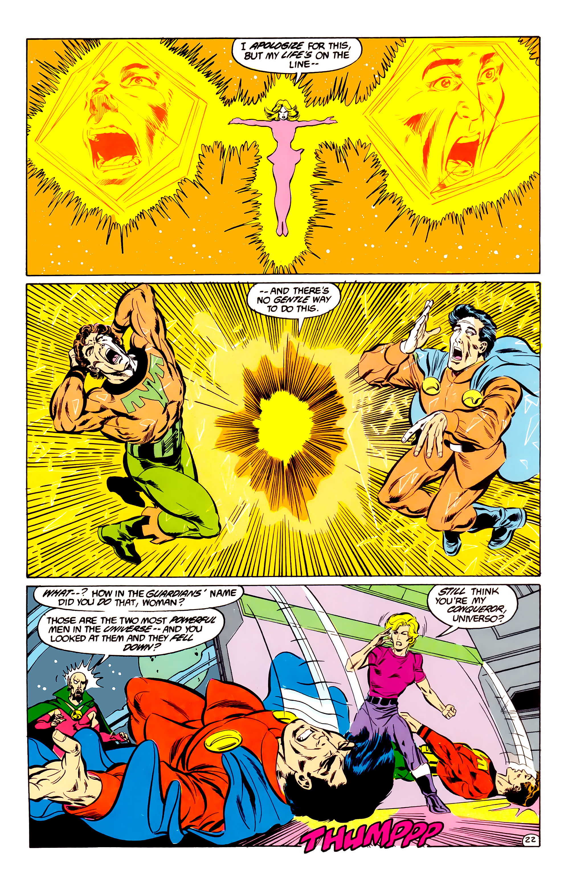 Legion of Super-Heroes (1984) 35 Page 21