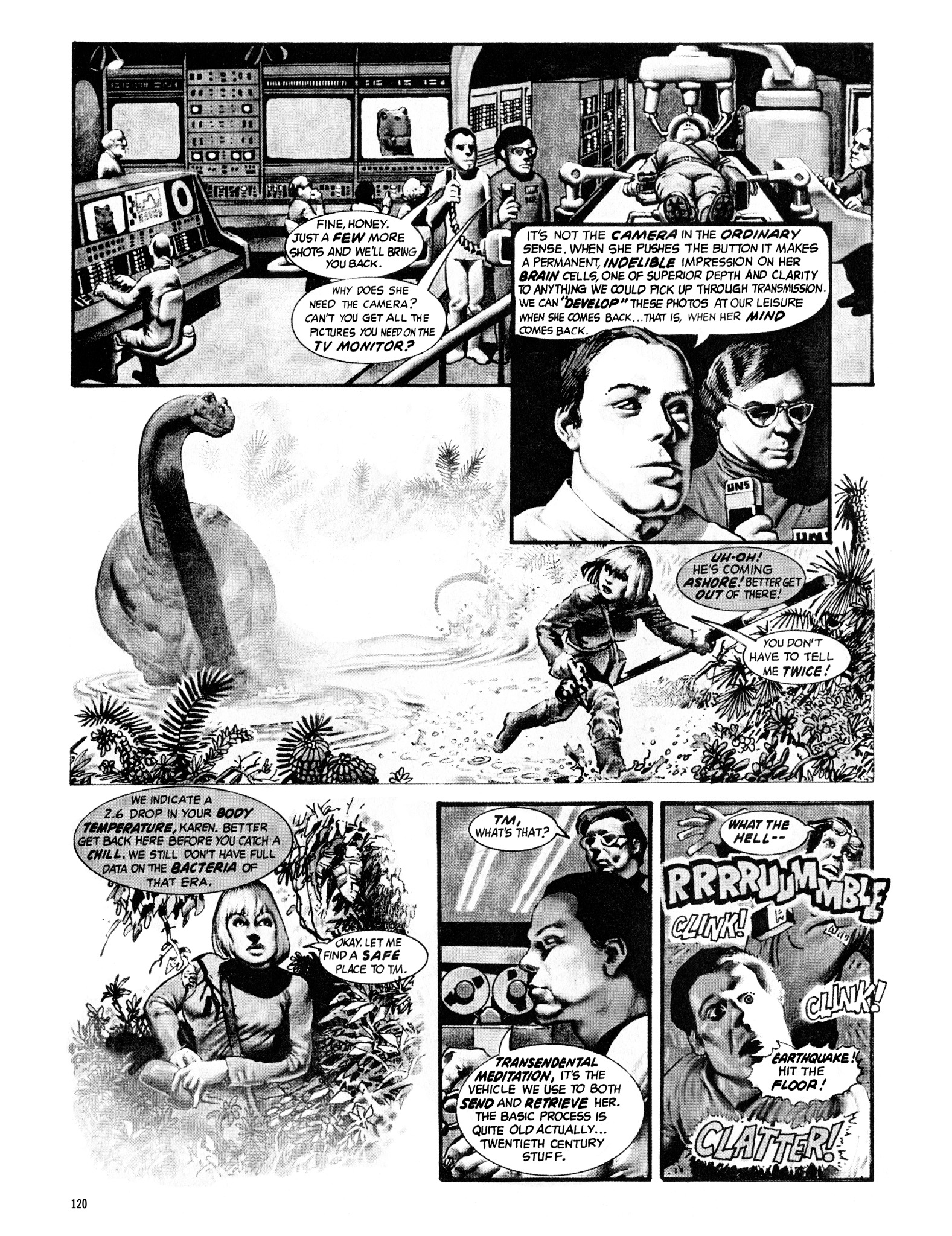 Read online Eerie Archives comic -  Issue # TPB 16 - 121