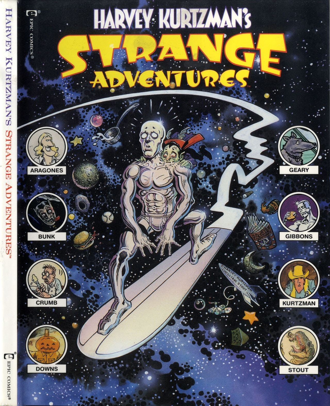 Harvey Kurtzmans Strange Adventures issue TPB - Page 1