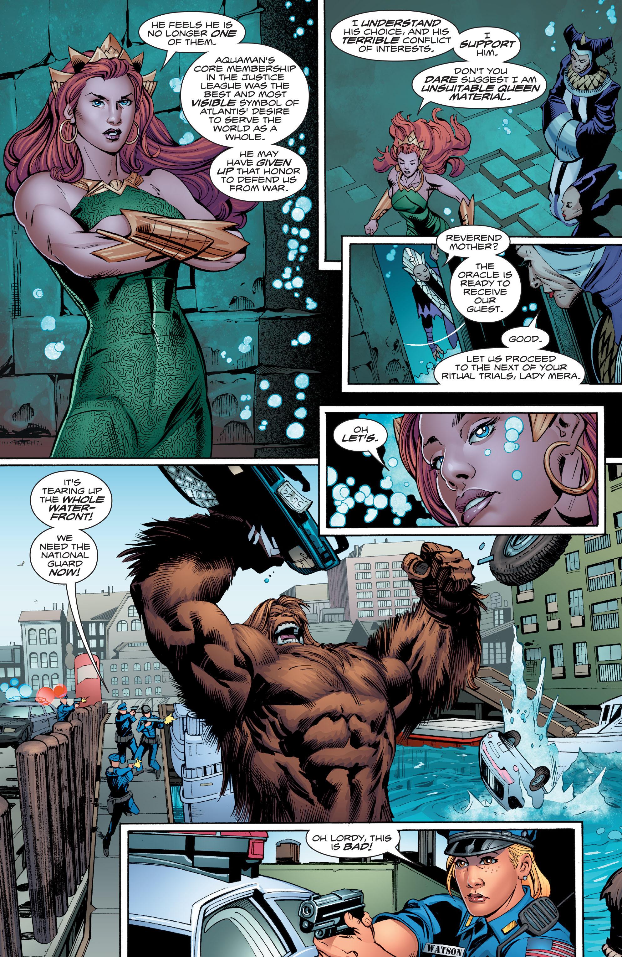 Read online Aquaman (2016) comic -  Issue #9 - 11