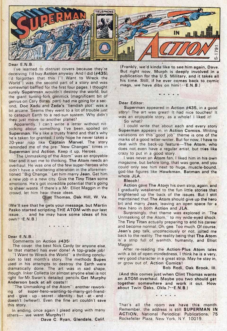 Action Comics (1938) 439 Page 31