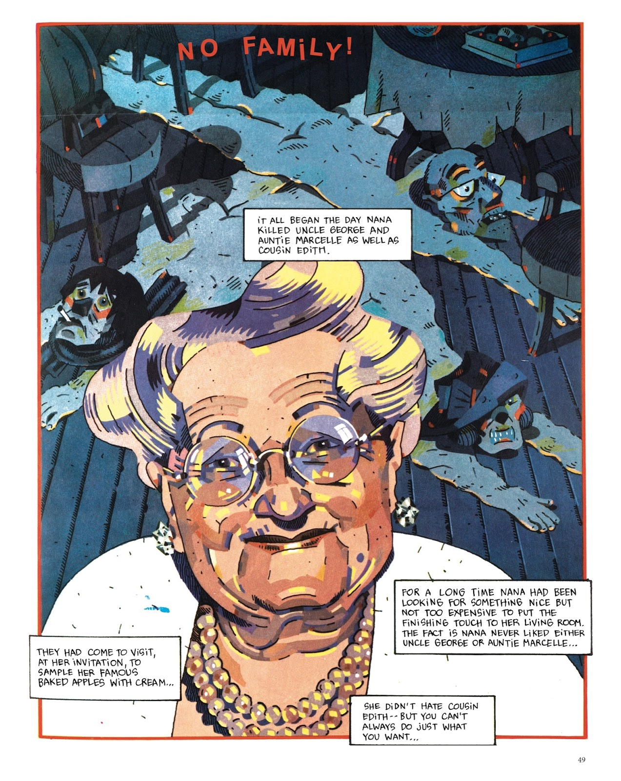 Read online The Green Hand and Other Stories comic -  Issue # TPB - 48