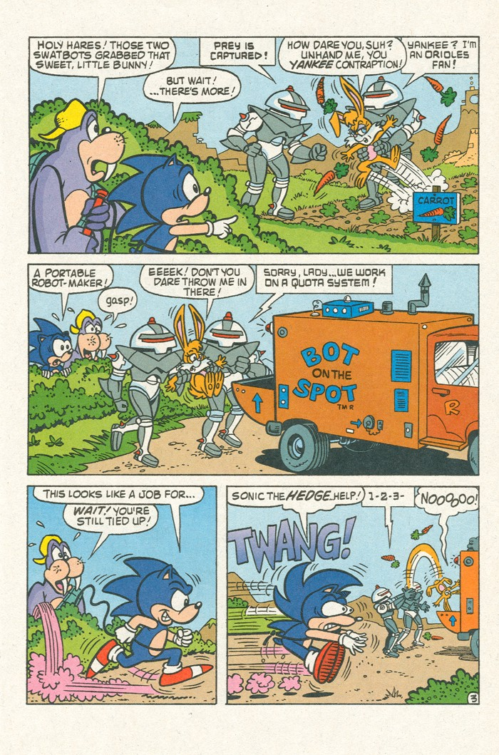 Read online Sonic Super Special comic -  Issue #3 - Sonic Firsts - 16